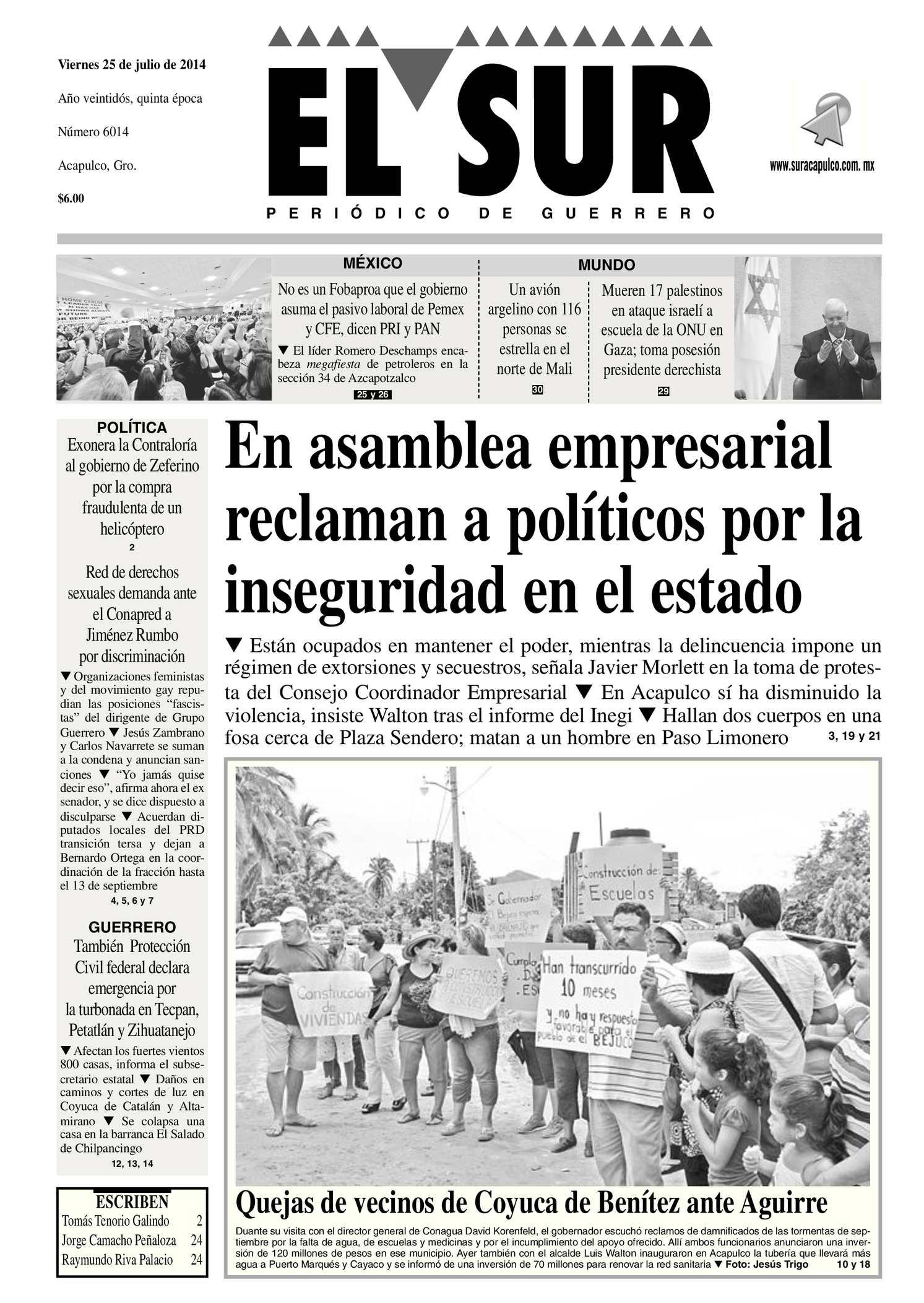 Calaméo - El Sur Viernes 25072014.pdf