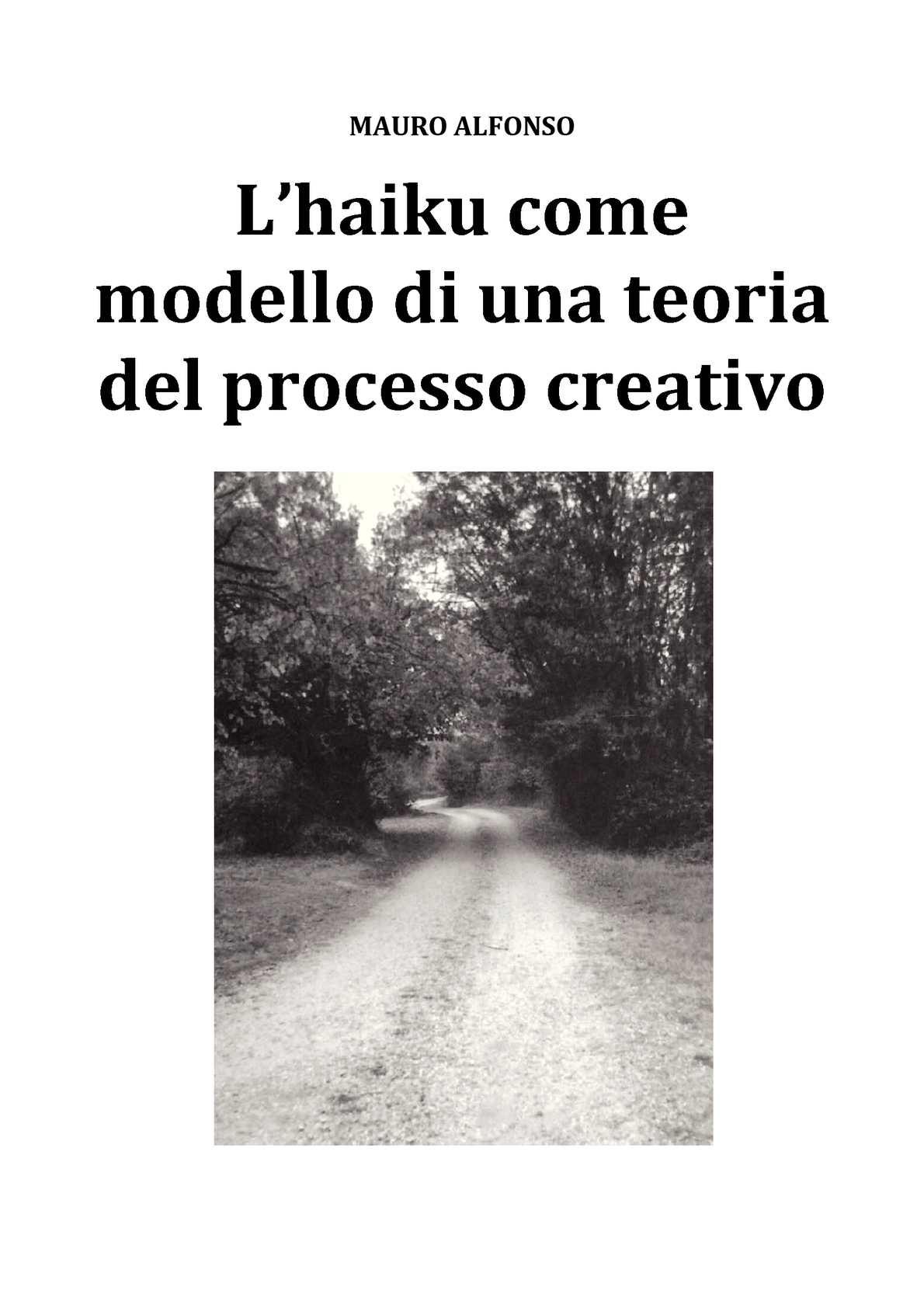 L'haiku come modello di una teoria del processo creativo