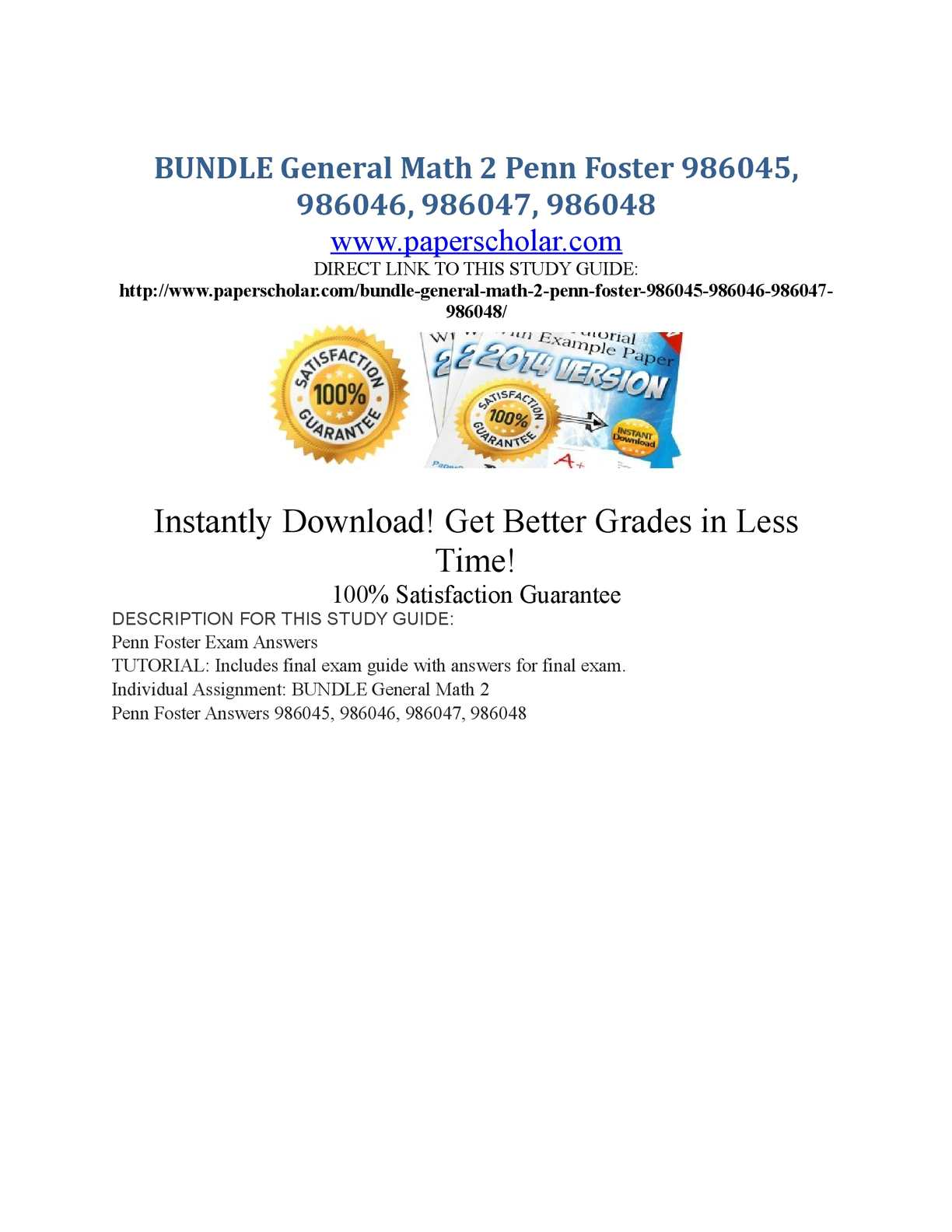 maths p1 study guide