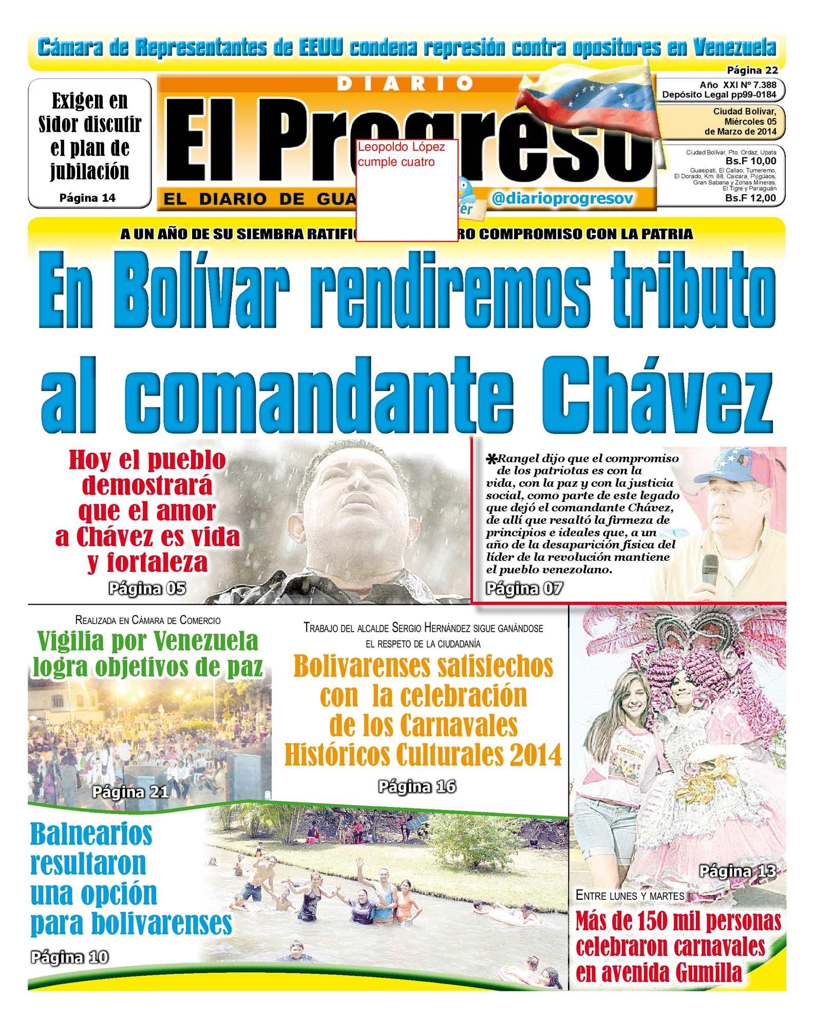 Calaméo - DIARIO EL PROGRESO EDICIÓN DIGITAL 05-03-2014