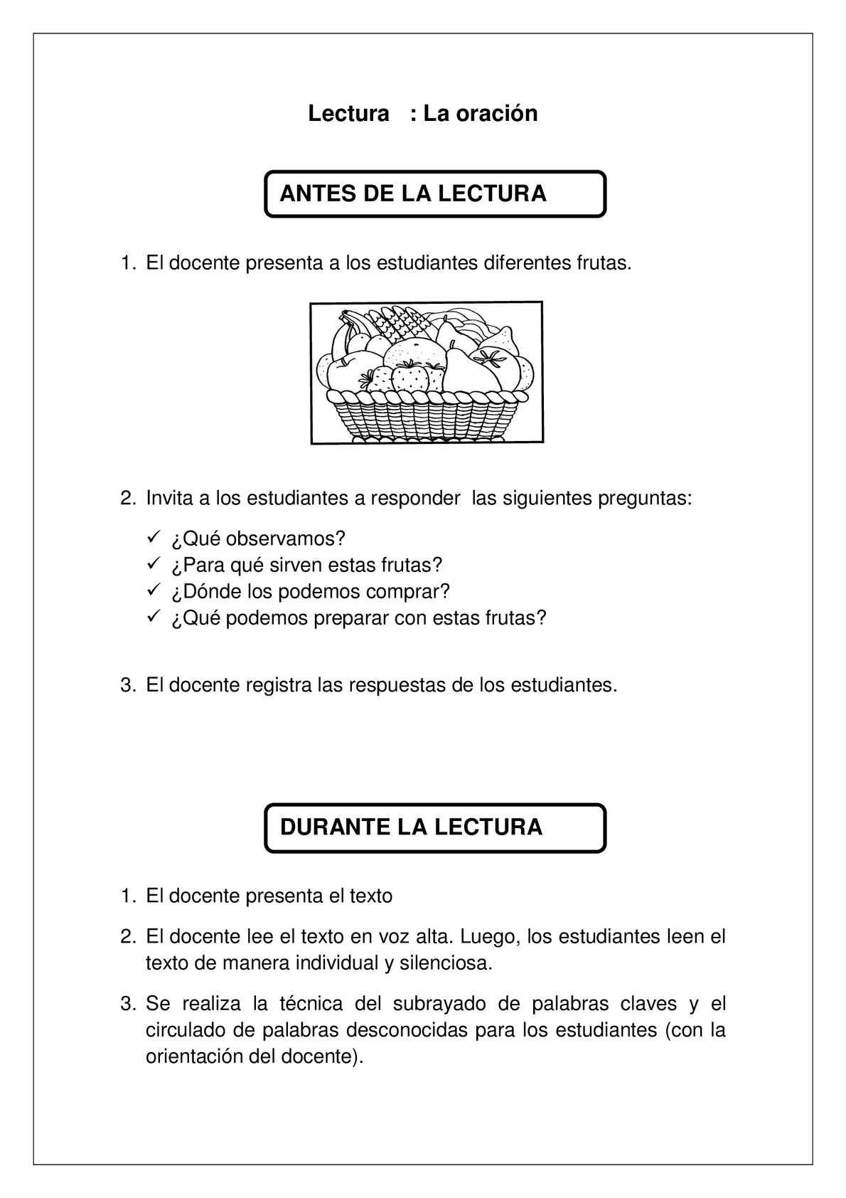 Calaméo - FICHAS DE LECTURA PARA EL III CICLO DE EBR