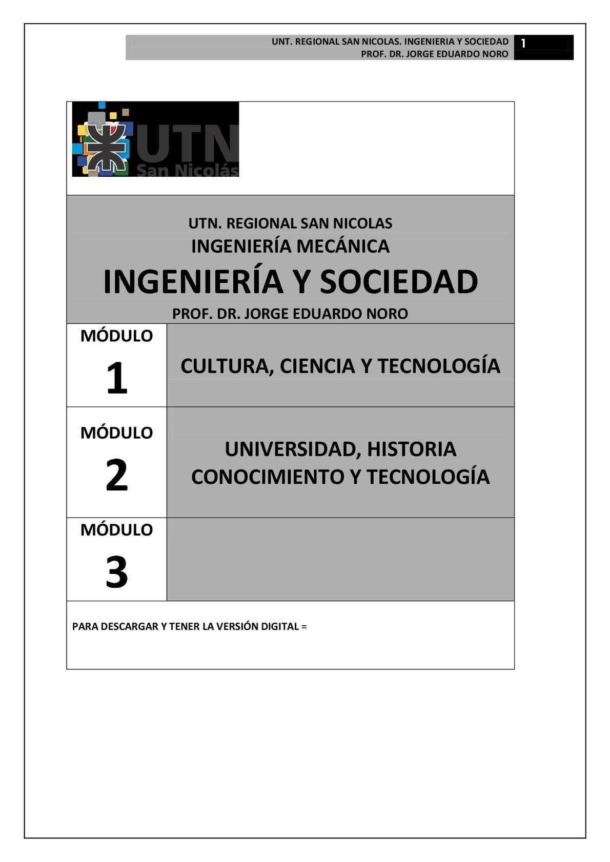 Calaméo - 163. INGENIERIA Y SOCIEDAD: MATERIAL DE CATEDRA