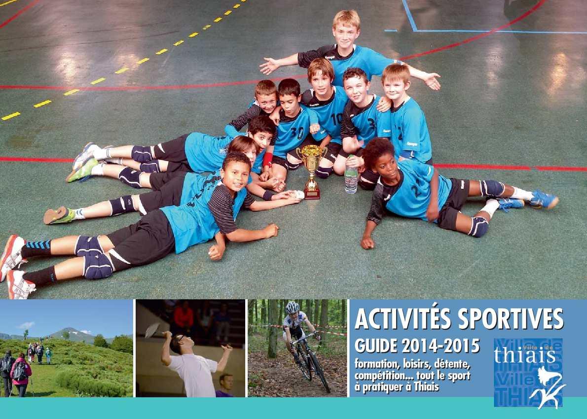 Calam o guide des activit s sportives 2014 2015 for 42 ecole piscine