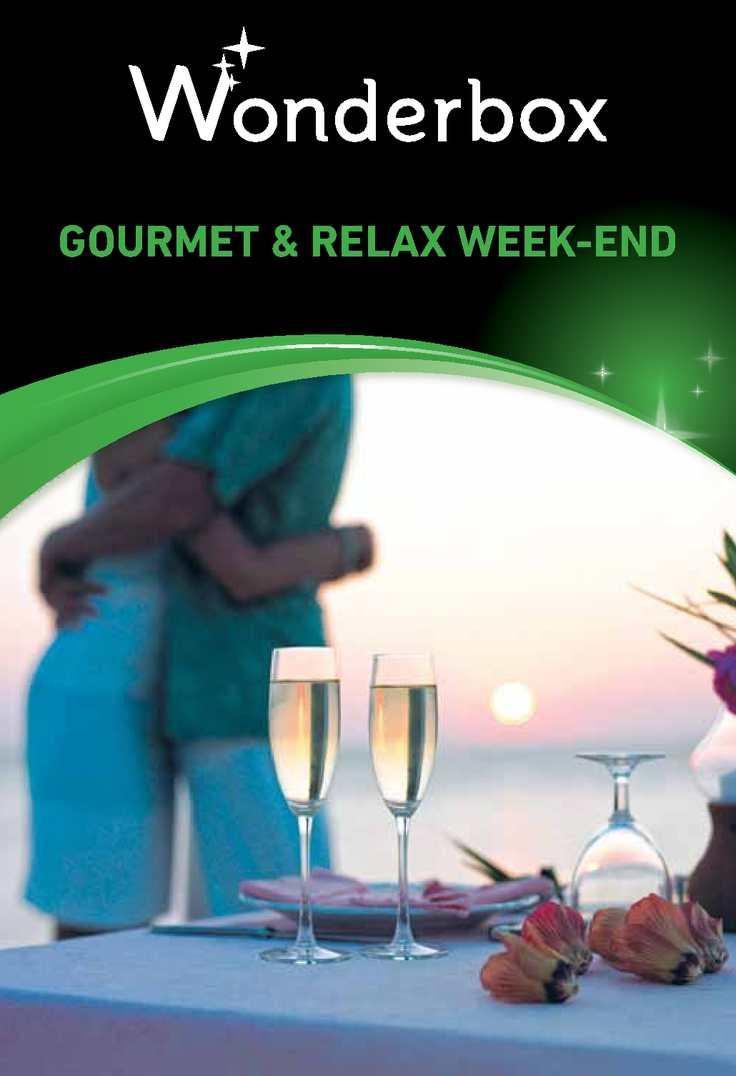 Calaméo - SG01 - Gourmet & relax week end - SC