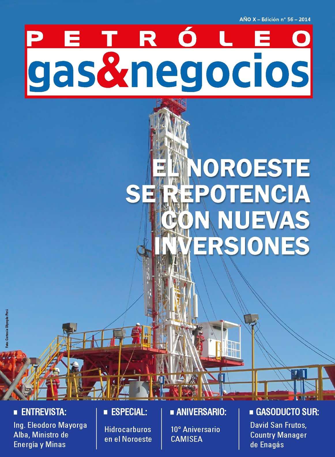 Calaméo - Revista Petroleo Gas & Negocios - Edición 56