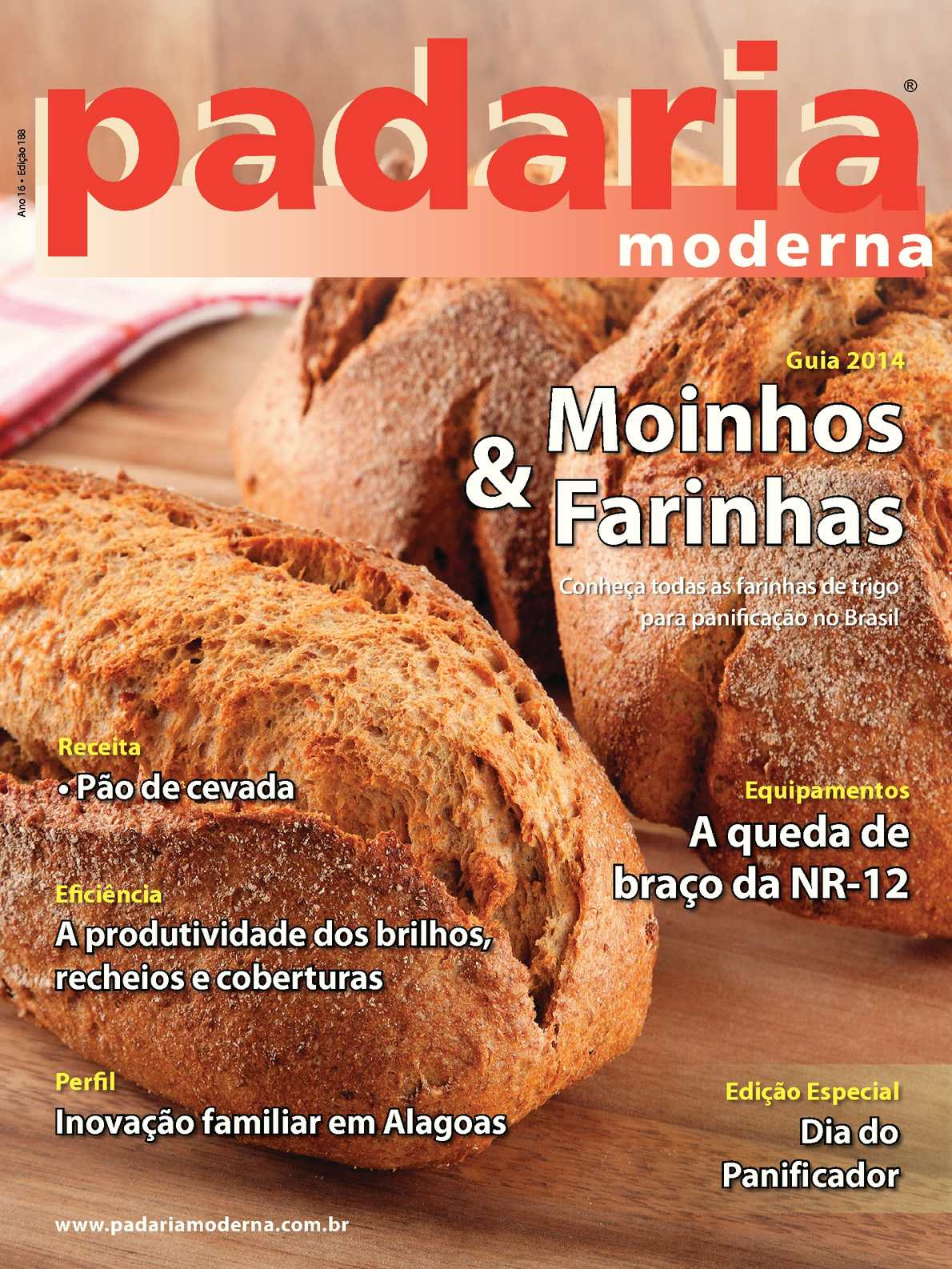Revista Padaria Moderna - Edição 188 Nova