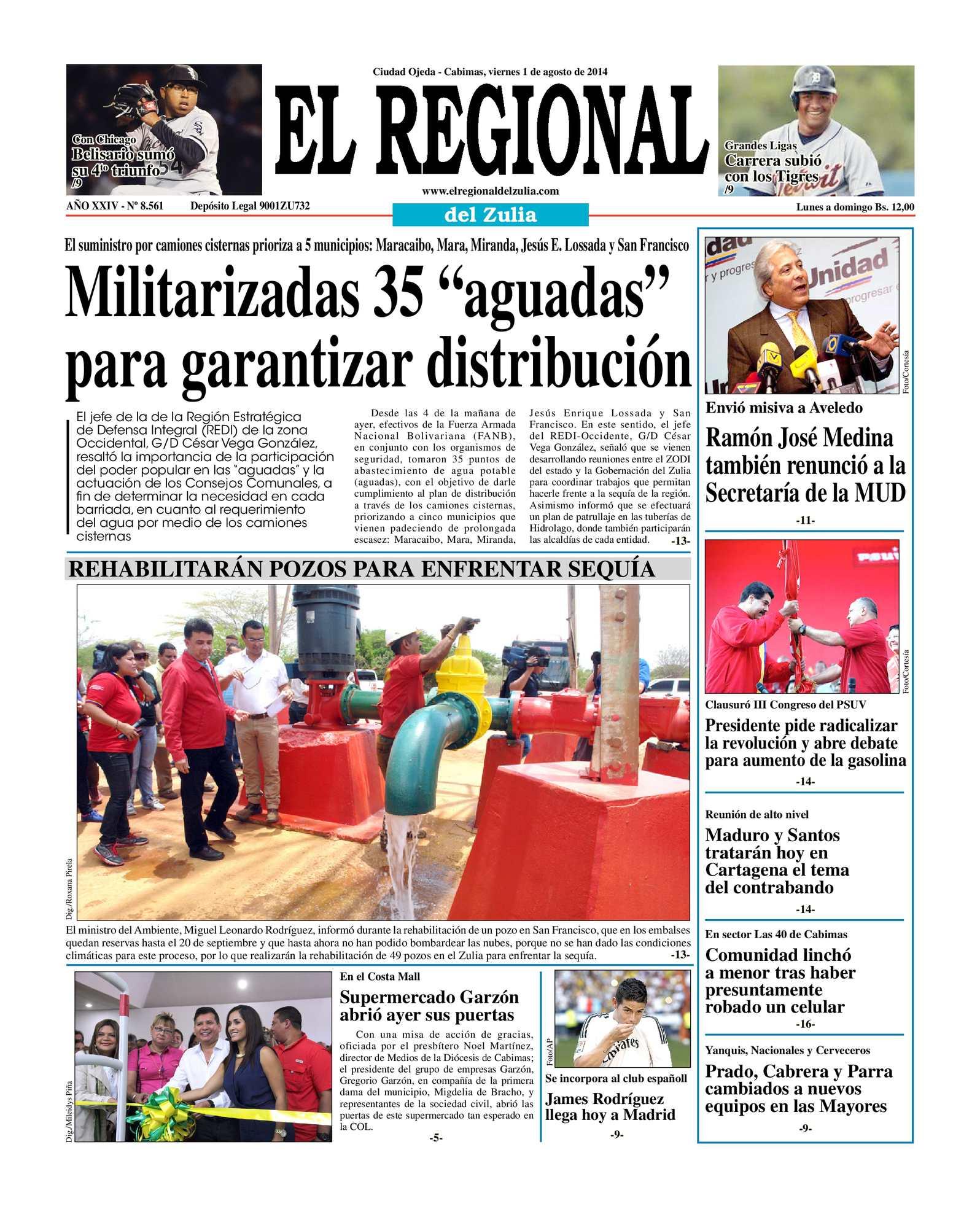 Calaméo - El Regional del Zulia 01-08-2014