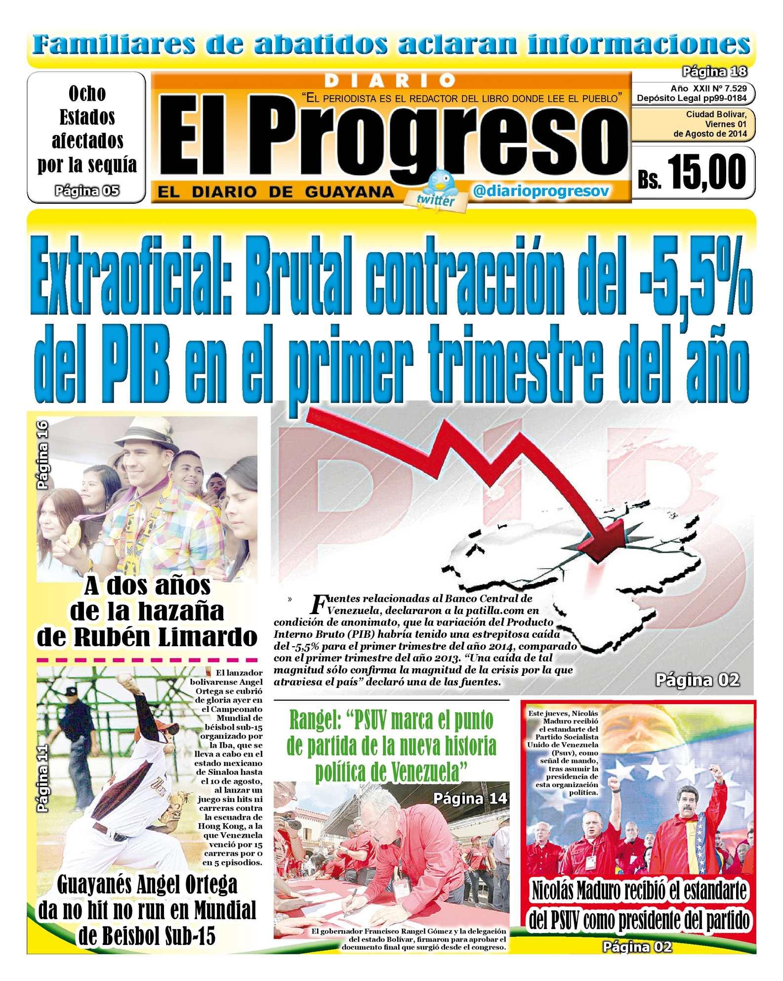 Calaméo - DIARIO EL PROGRESO EDICIÓN DIGITAL 01-08-2014