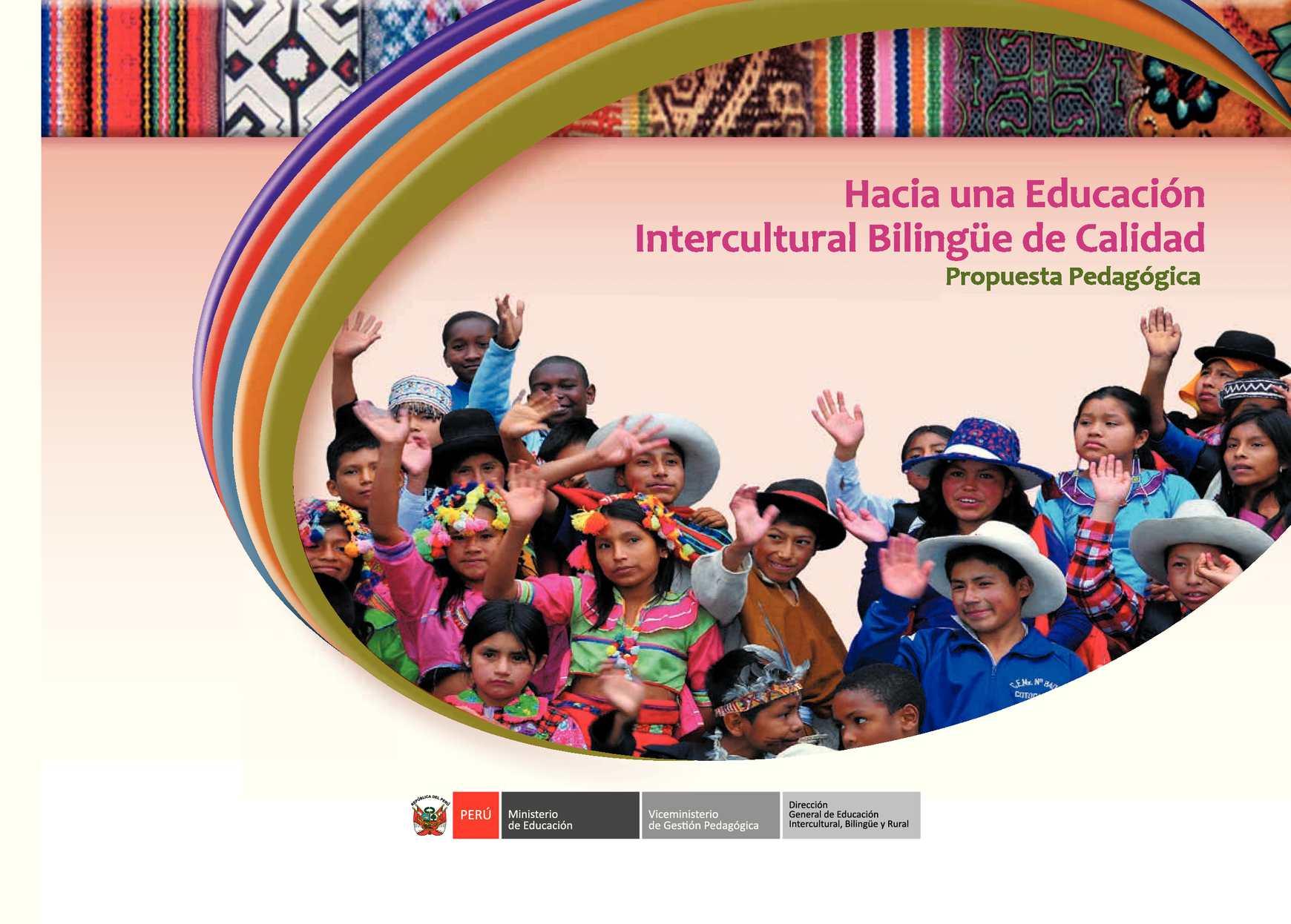 Calam o propuesta pedaggogica eib 2013 for Arquitectura para la educacion pdf