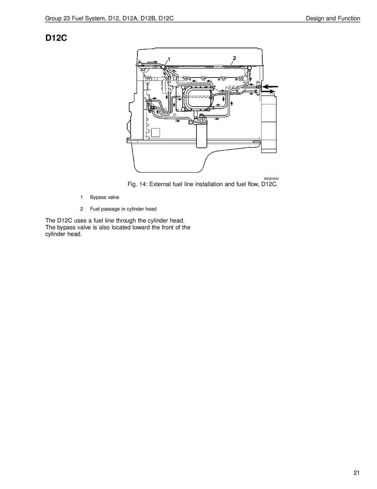 Volvo D12 Fuel System Diagram Wiring Diagram Database