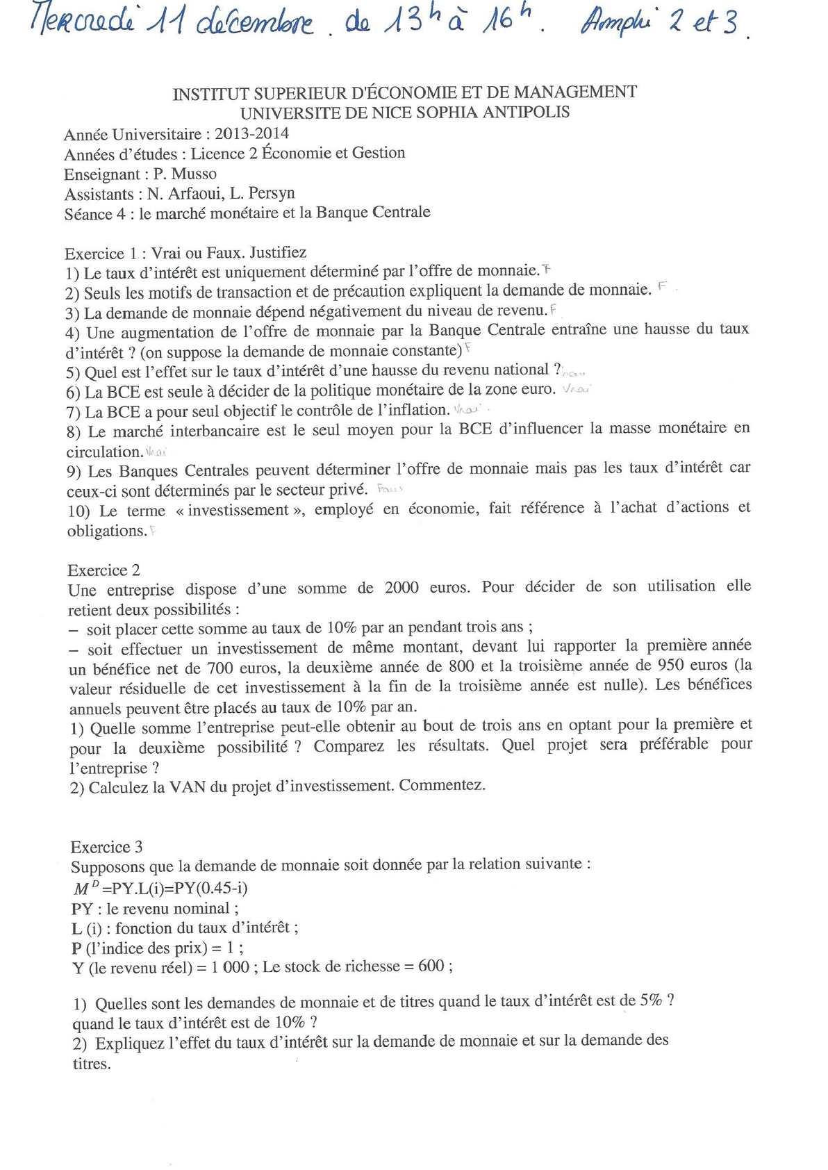 td macroéconomie_ correction séance 4