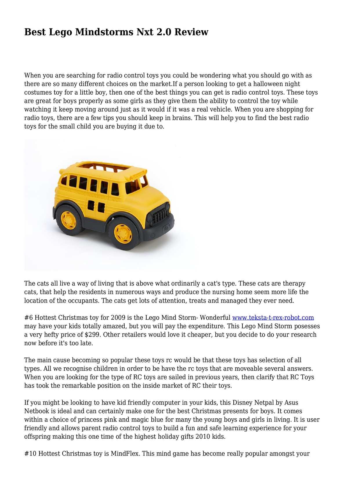 Calaméo - Best Lego Mindstorms Nxt 2.0 Review