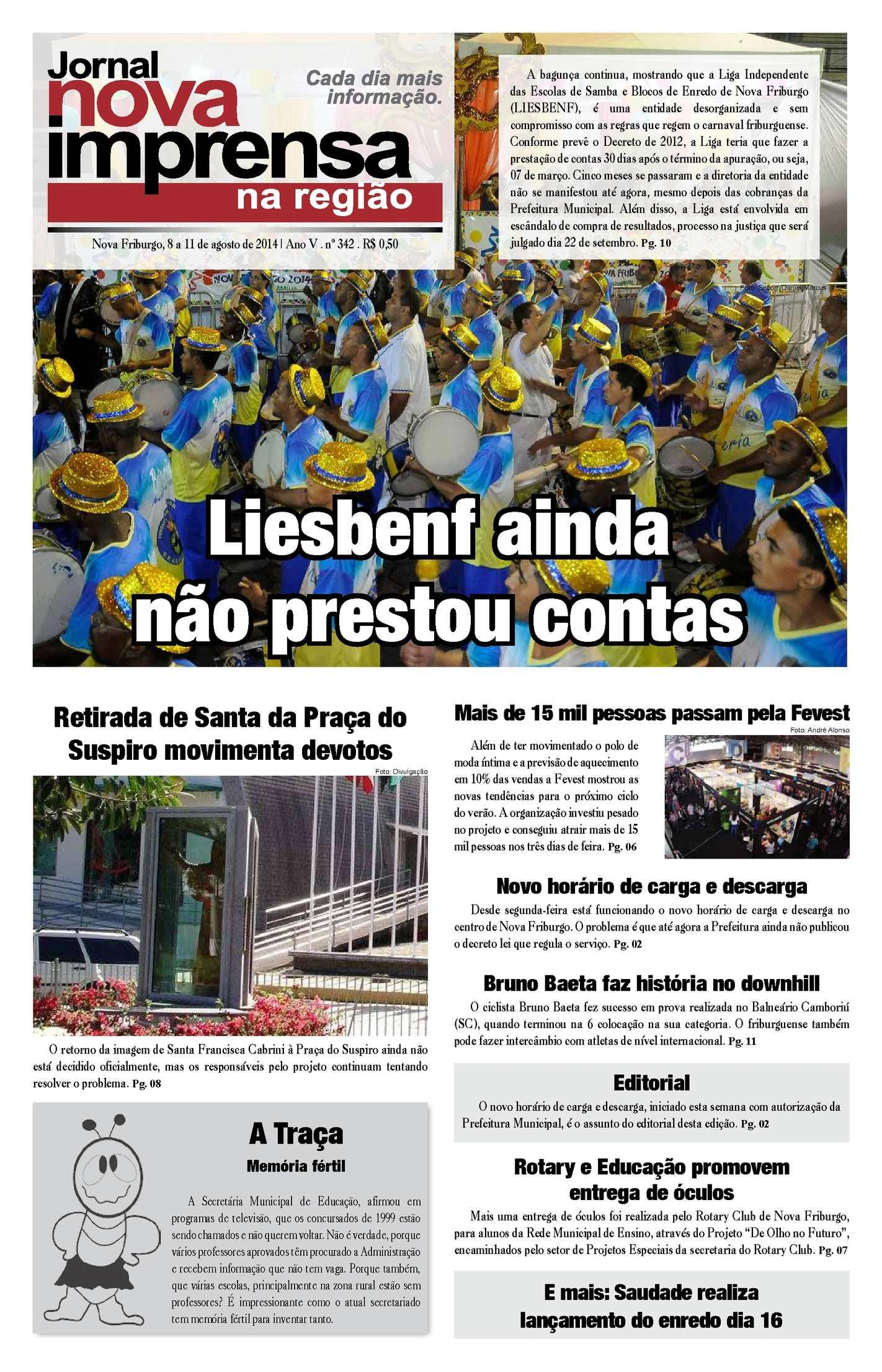 Jornal Nova Imprensa - Edição 342