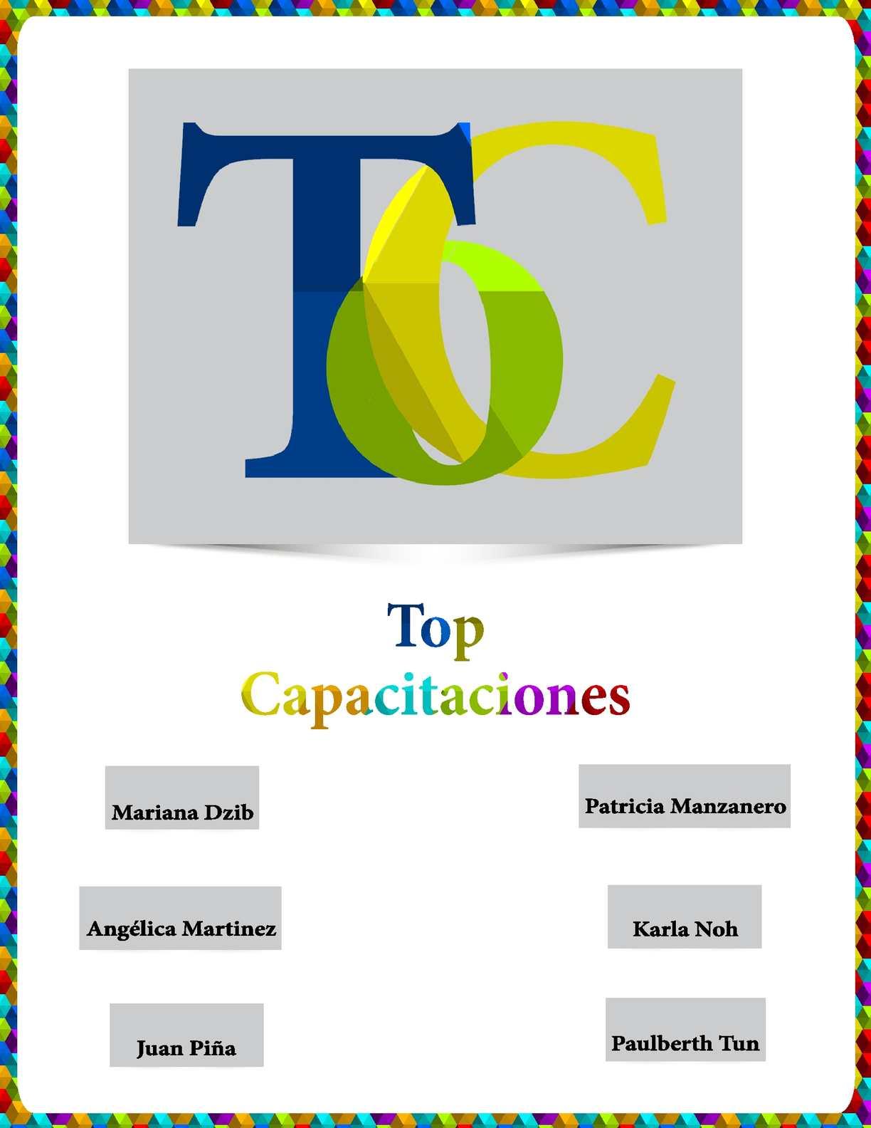 Calaméo - Top Capacitaciones Documento de Negocios