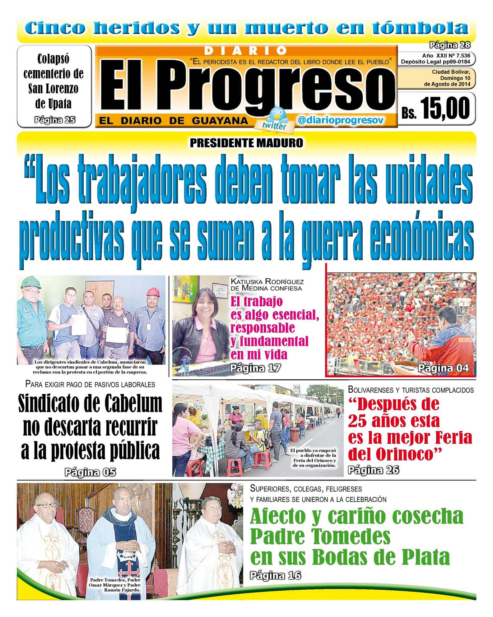 Calaméo - DIARIO EL PROGRESO EDICIÓN DIGITAL 10-08-2014