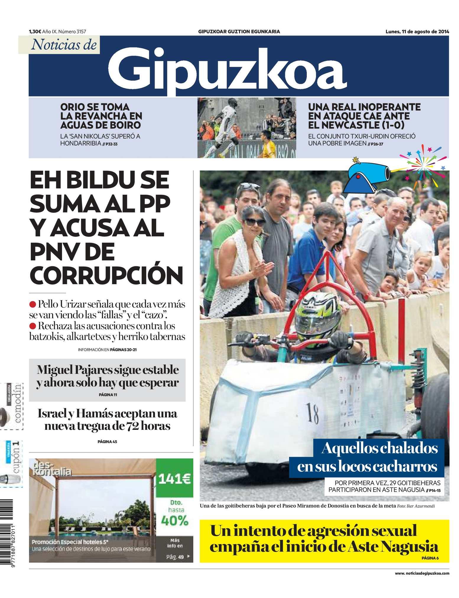 Calaméo - Noticias de Gipuzkoa 20140811