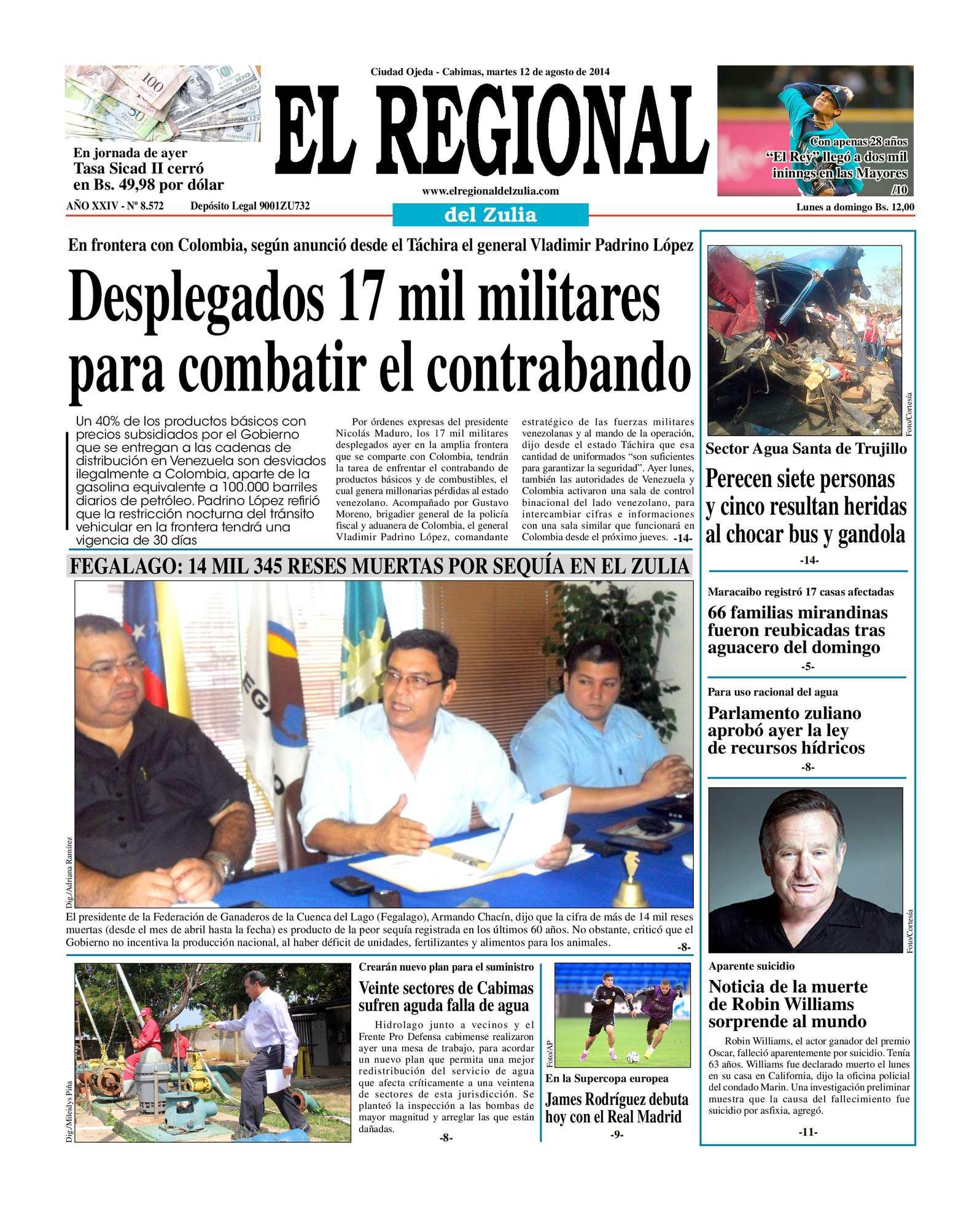 Calaméo - El Regional del Zulia 12-08-2014