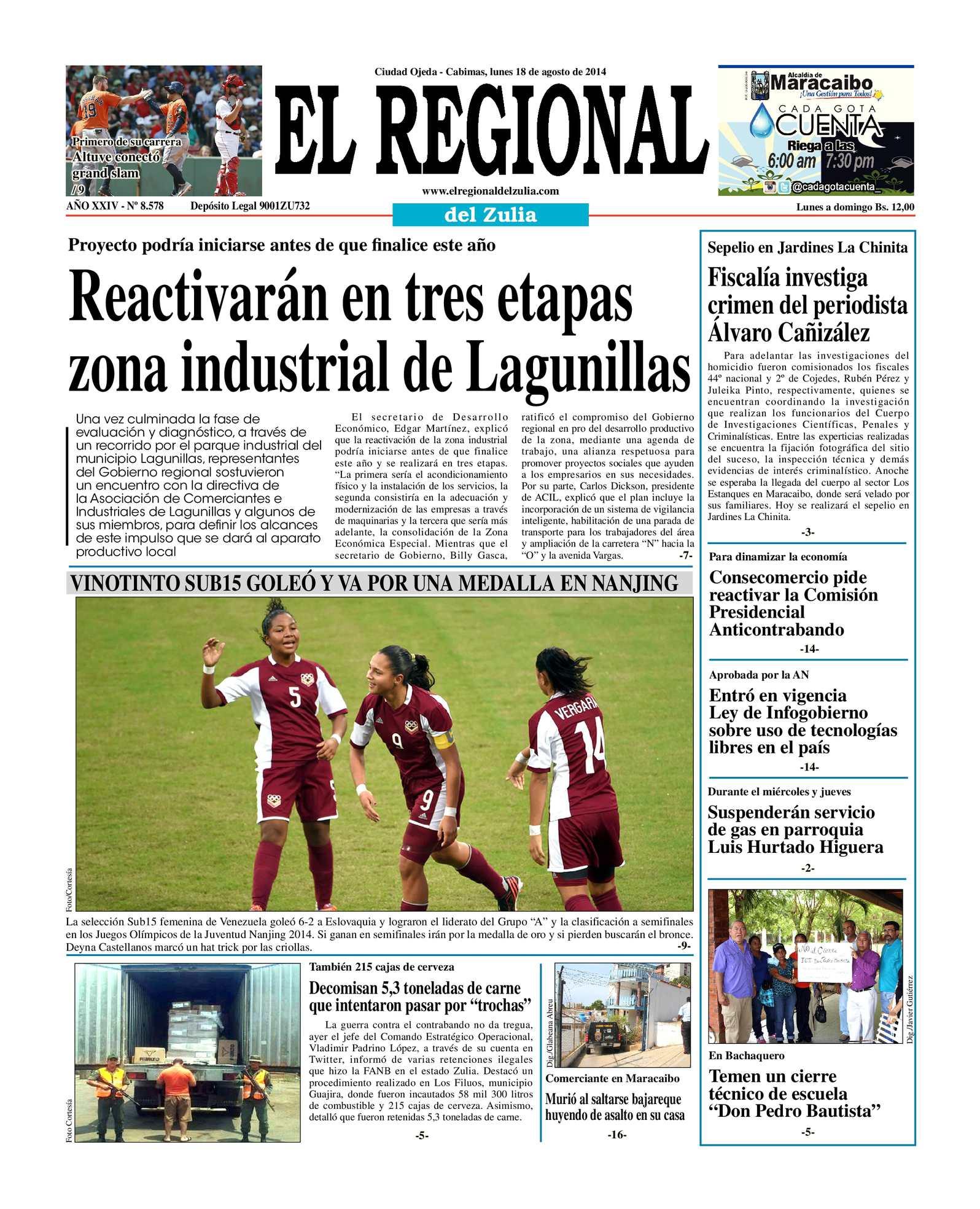 Calaméo - El Regional del Zulia 18-08-2014