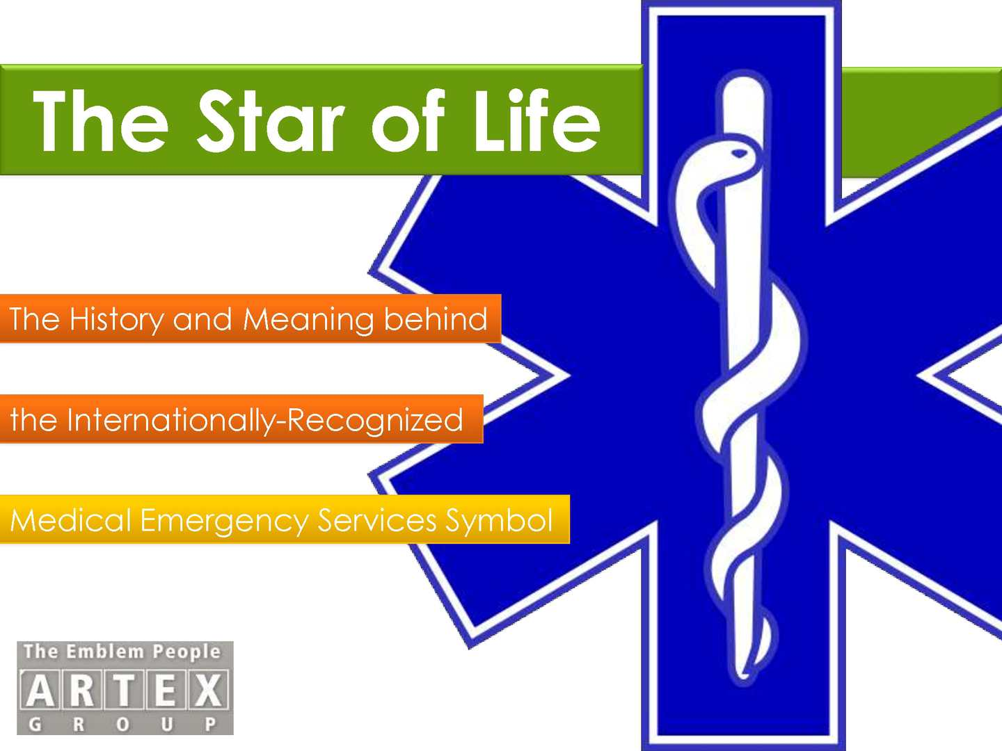 Calamo The Star Of Life The History And Meaning Behind The