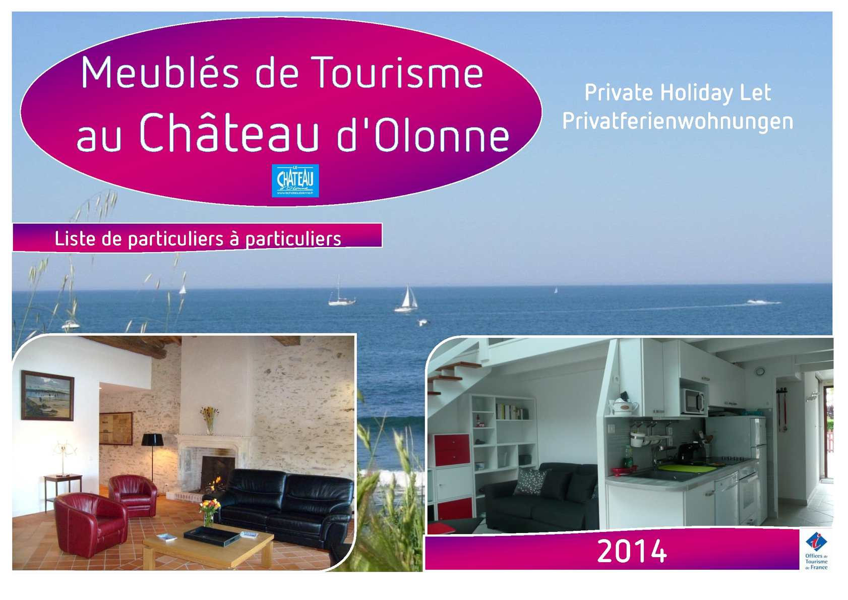 calam o liste des meubl s de tourisme au ch teau d 39 olonne pour 2014. Black Bedroom Furniture Sets. Home Design Ideas
