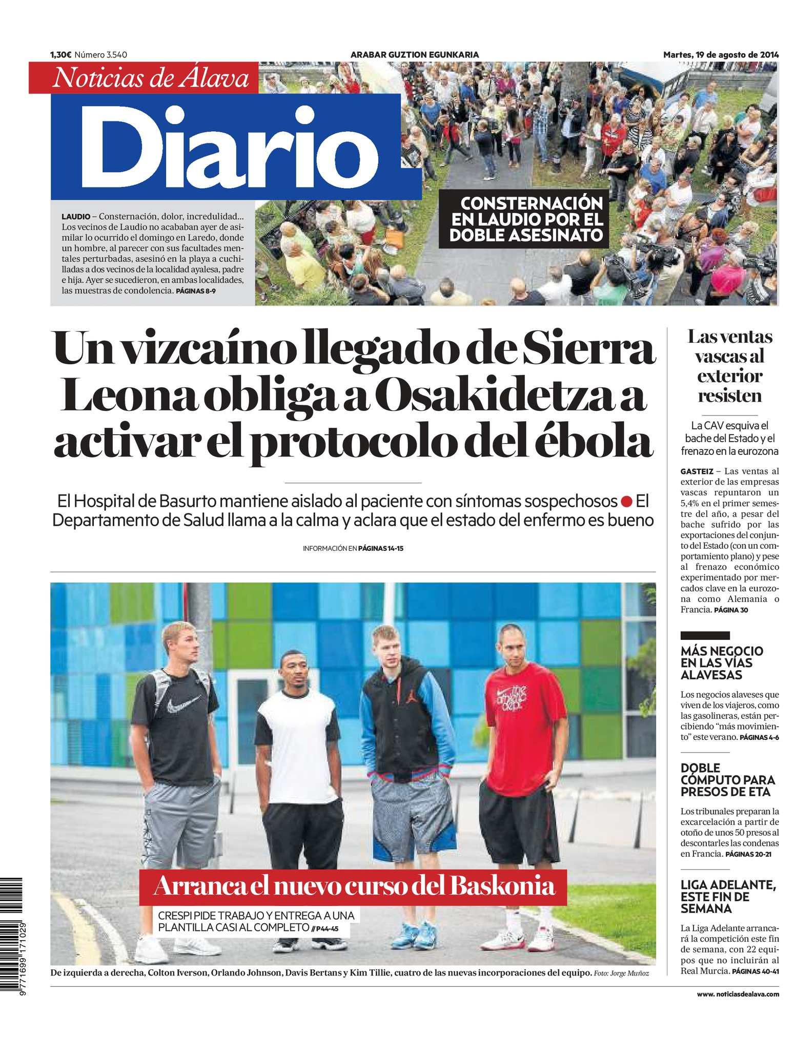 Calaméo - Diario de Noticias de Álava 20140819
