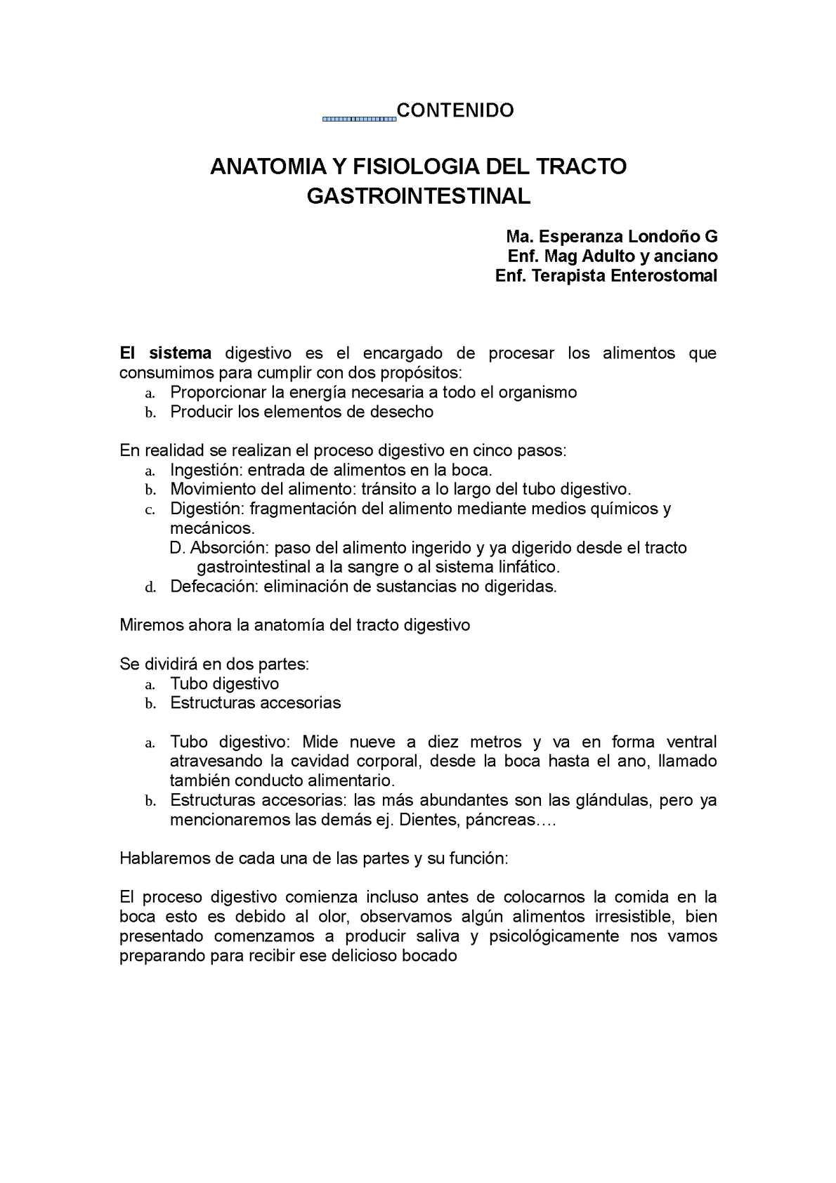 Calaméo - anatomia y fisiologia gastrointestinal
