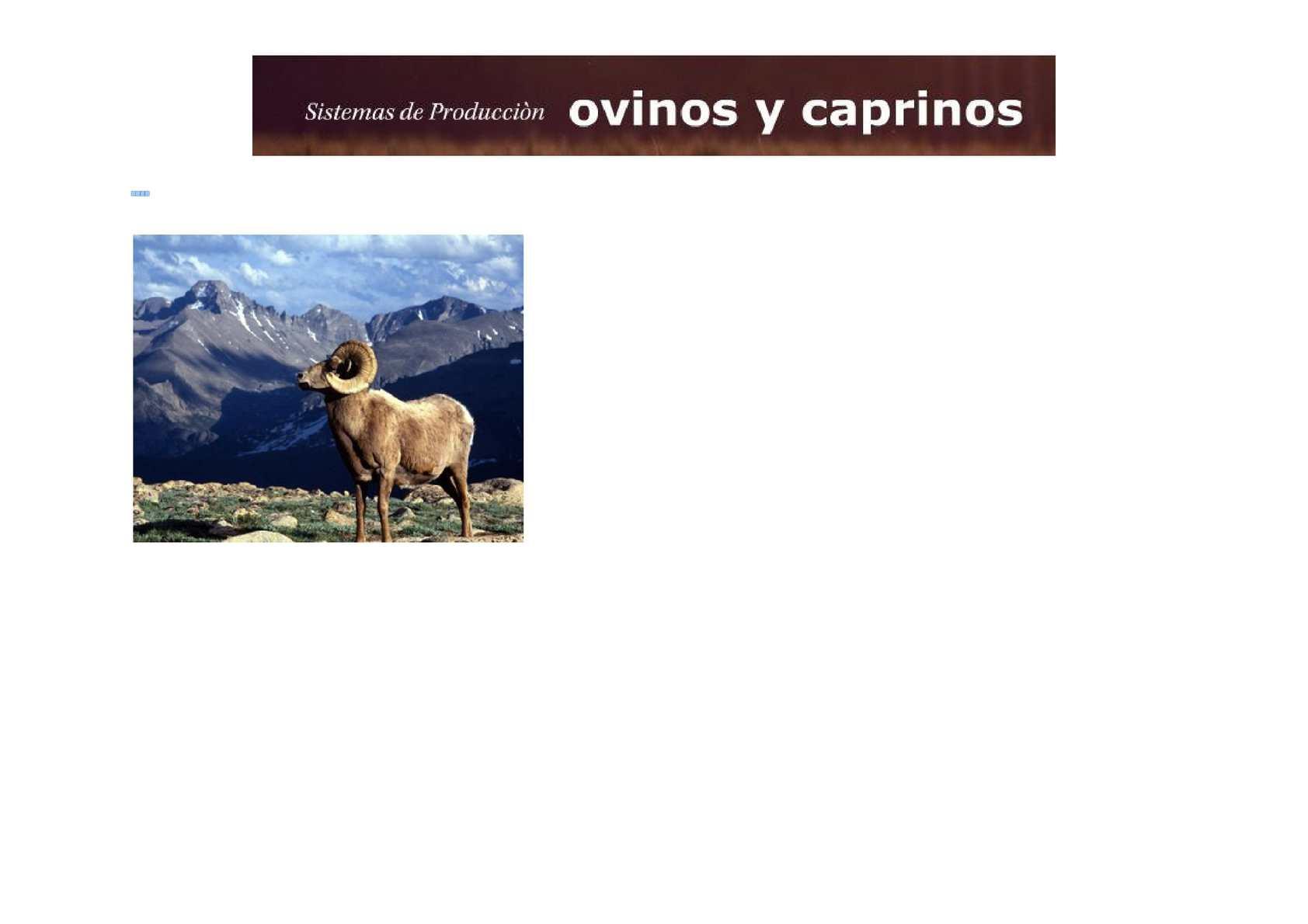 Calaméo - Ovinos y caprinos - Reproducción