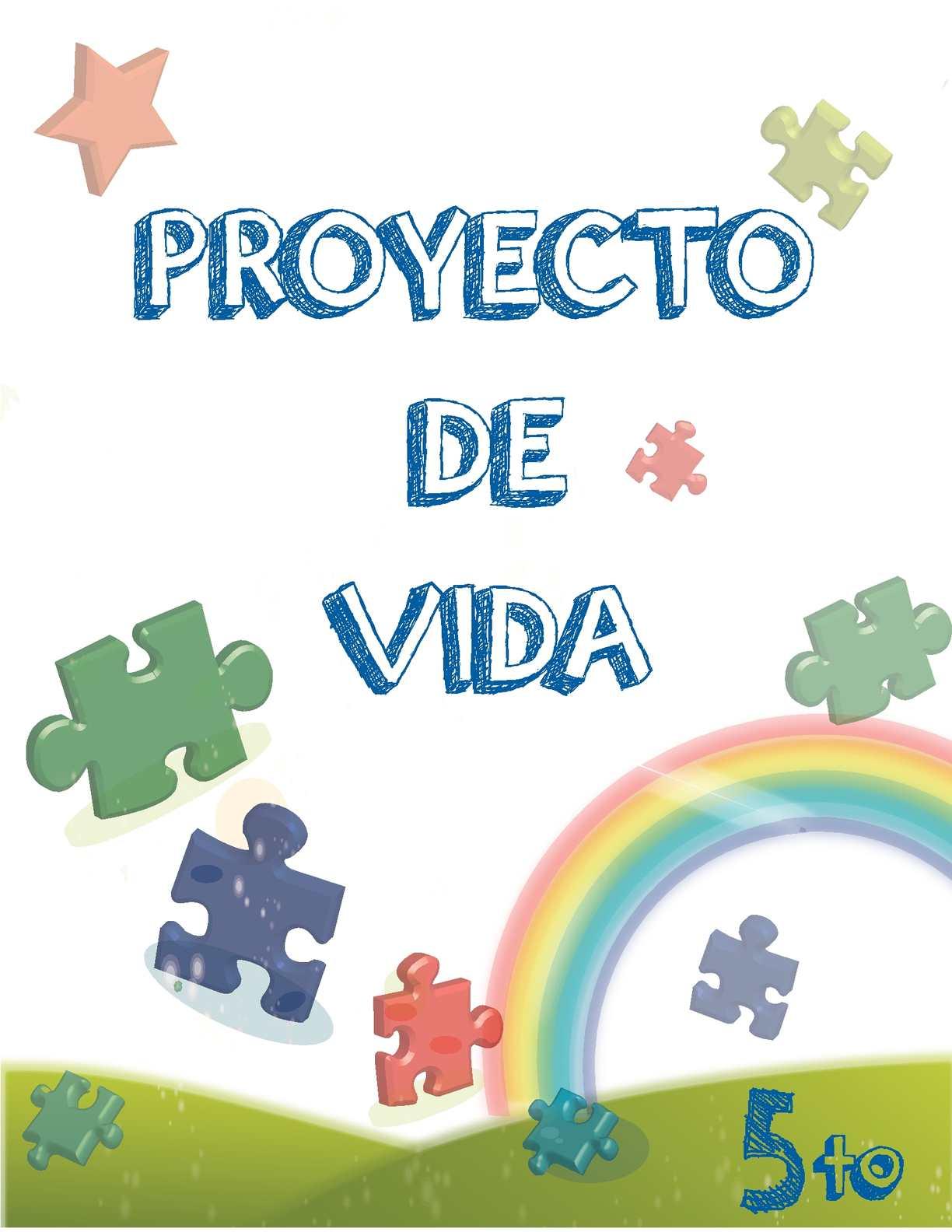Calaméo - Cartalla proyecto de vida grado 5