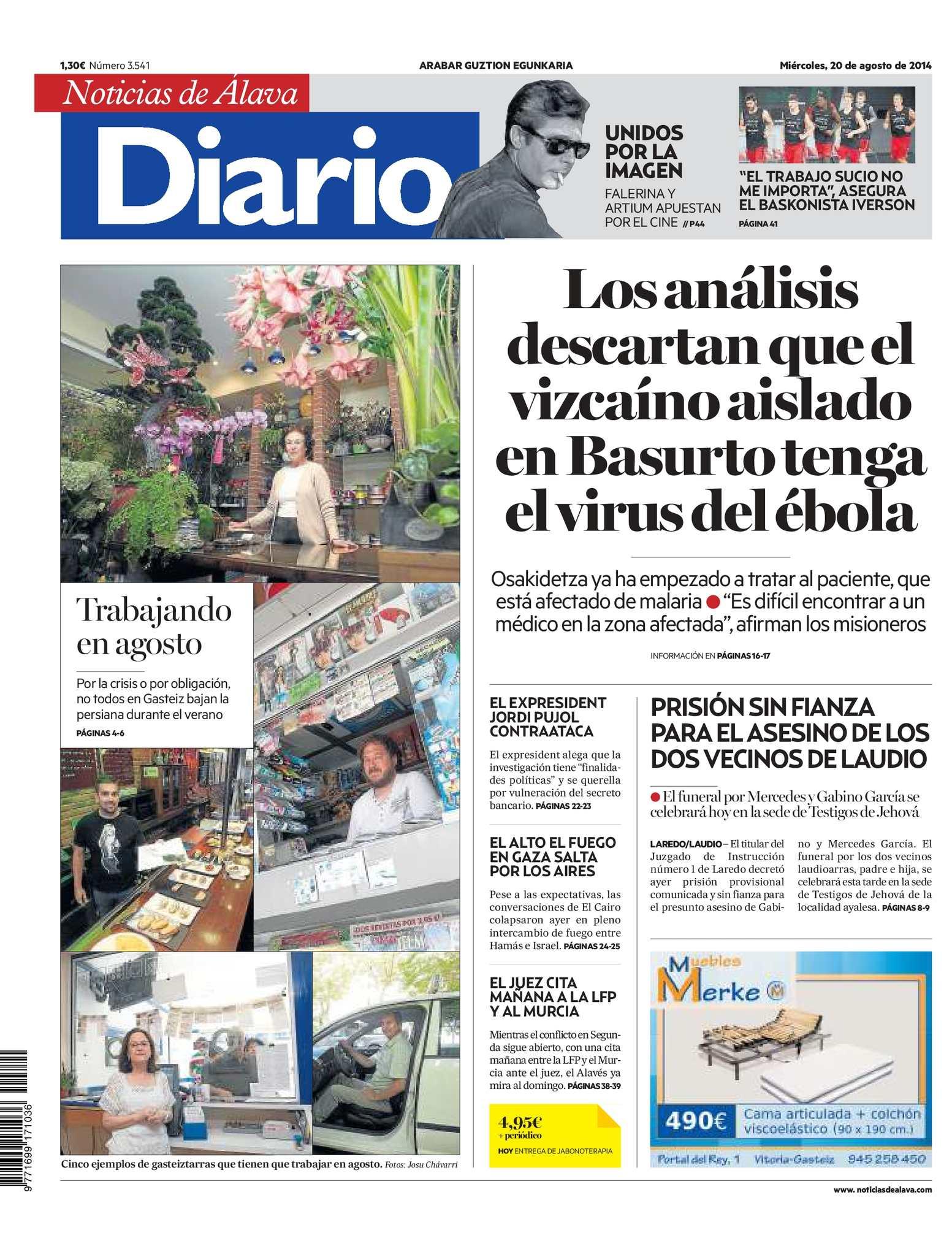 Calaméo - Diario de Noticias de Álava 20140820
