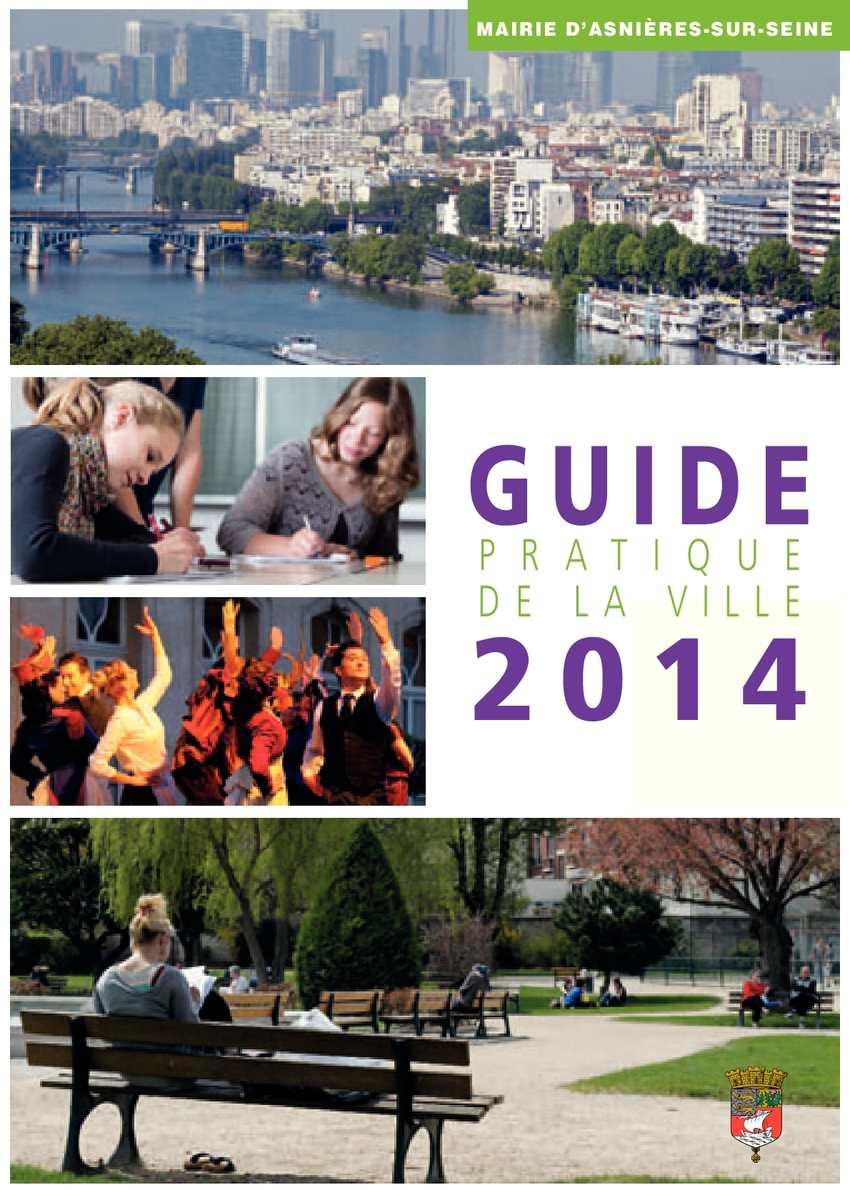 Calam o guide de la ville d 39 asni res 2014 for Asnieres sur seine piscine