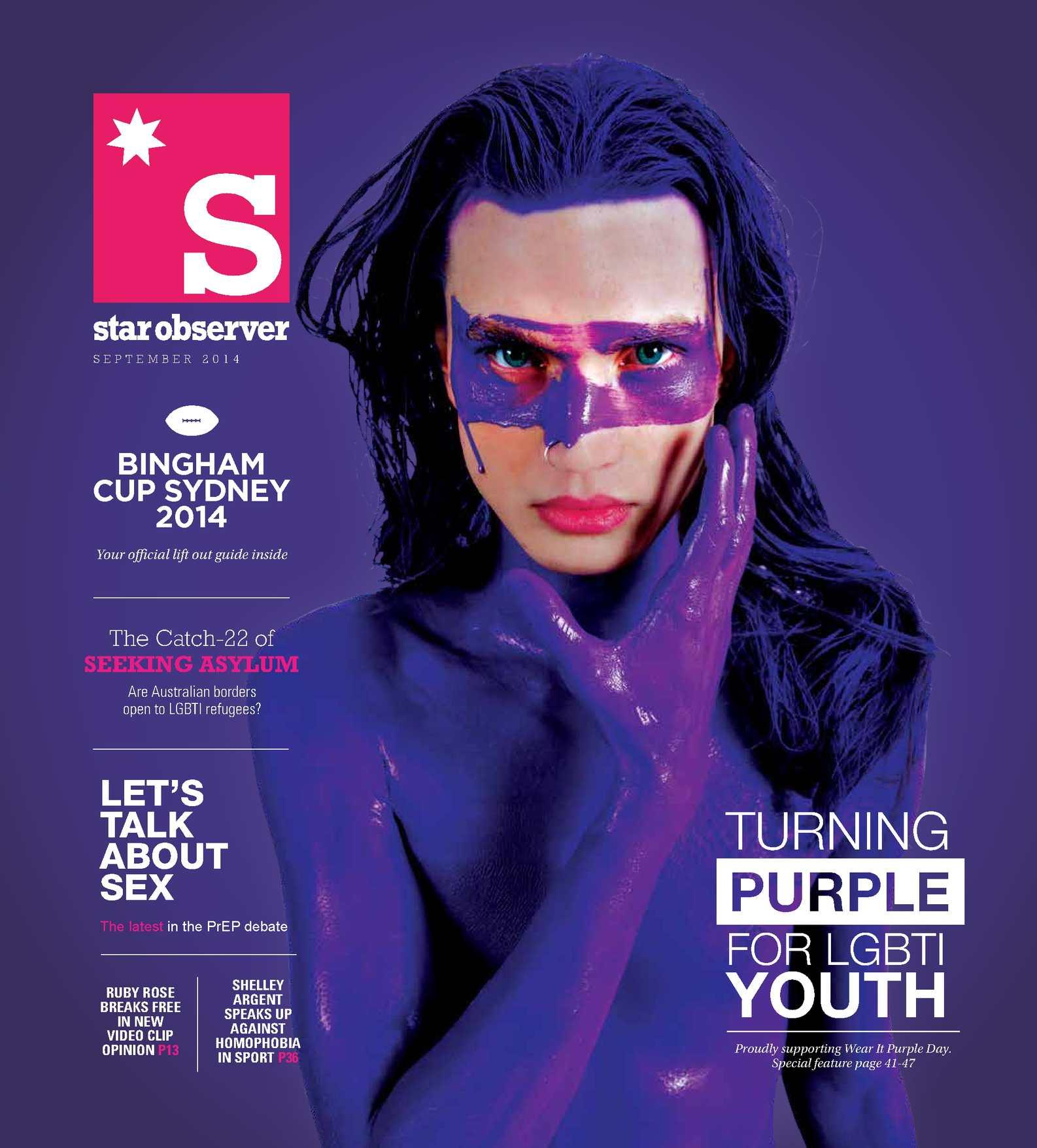 Cleavage Masculin Feminin Purple Magazine nude photos 2019
