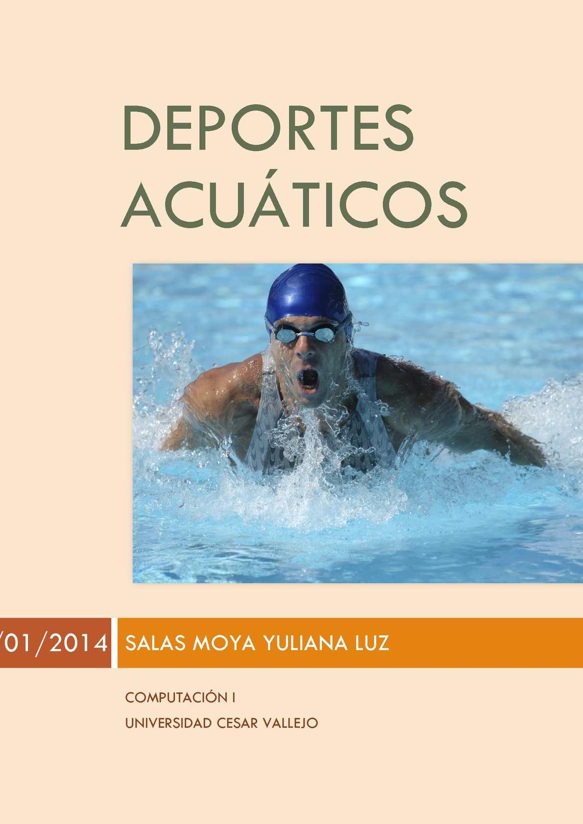gorjeo escoltas Deportes acuáticos
