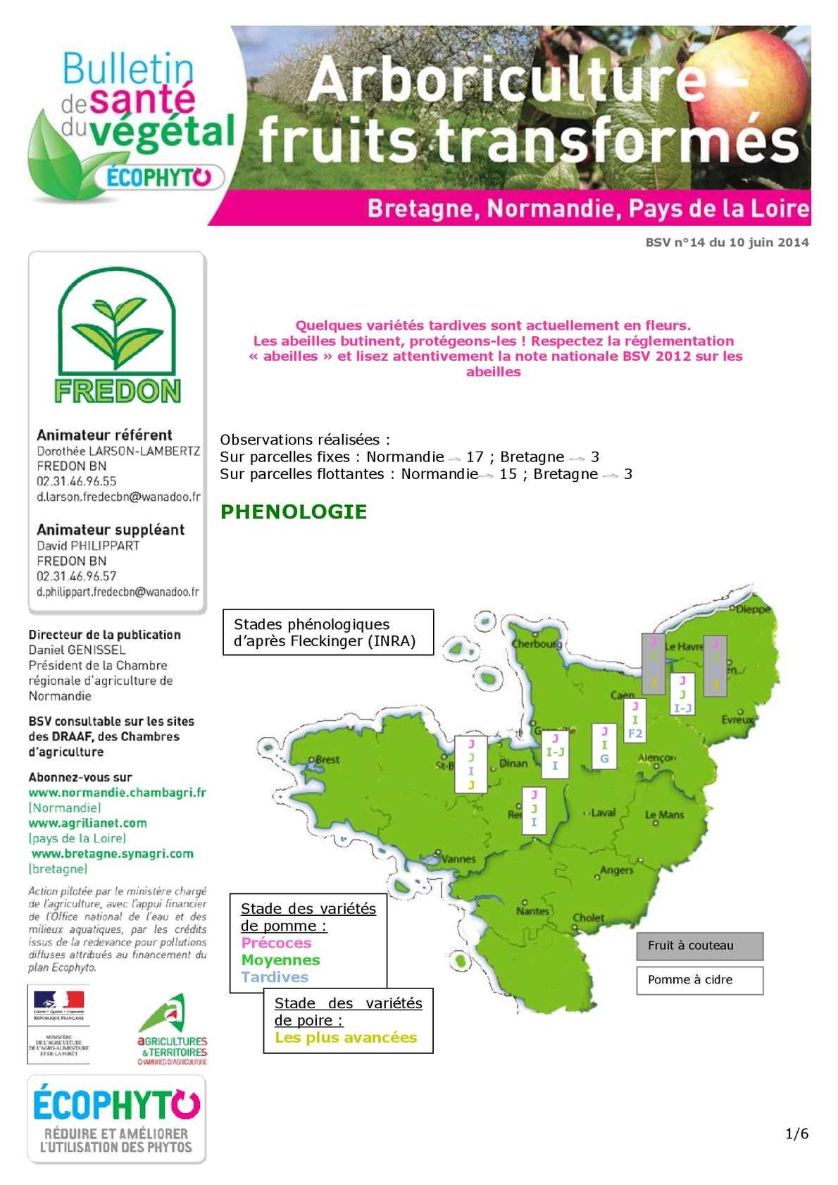 Bsv Normandie calaméo - n°14 du 10-06-14