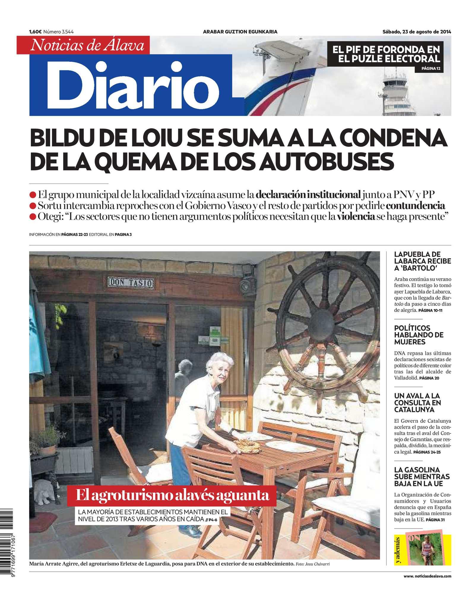 Calaméo - Diario de Noticias de Álava 20140823