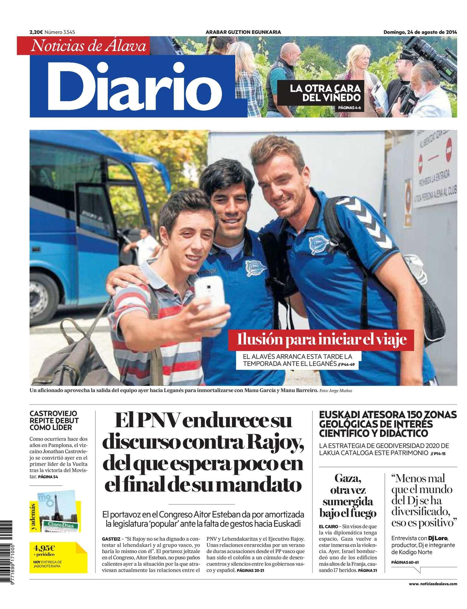Calaméo - Diario de Noticias de Álava 20140824