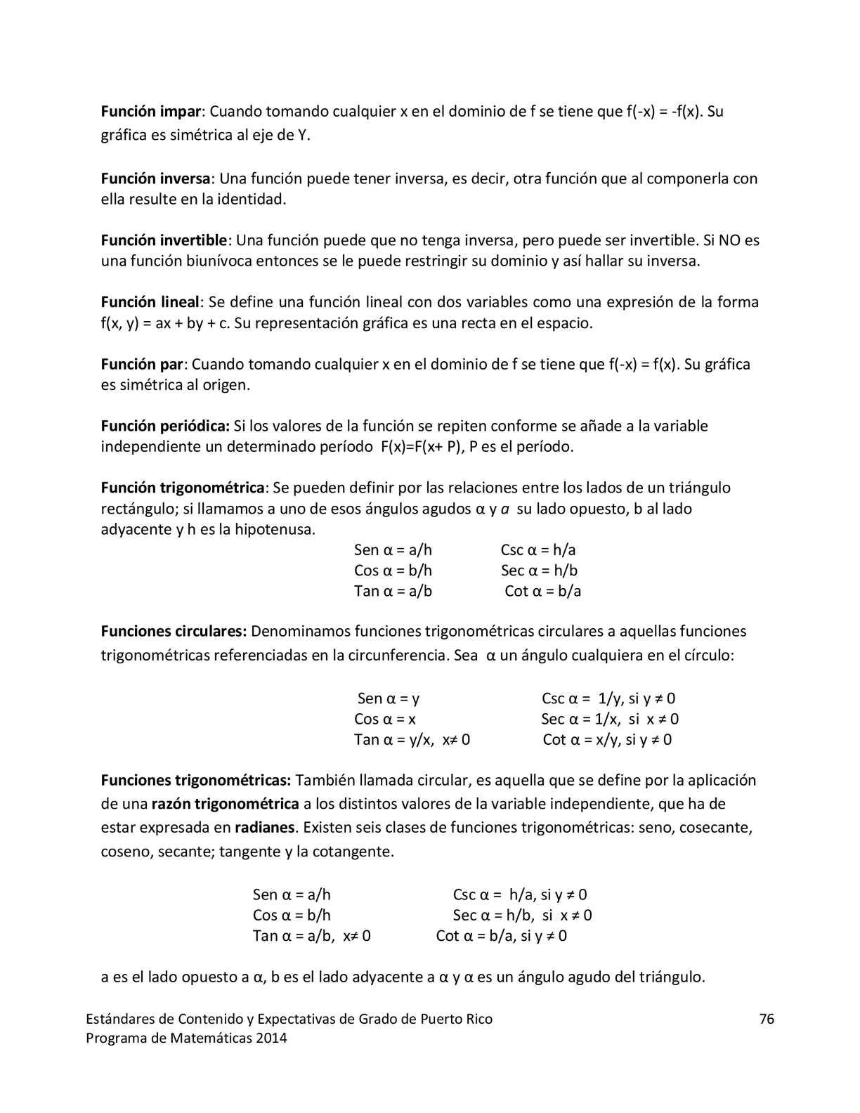 Estándares de Matemáticas - CALAMEO Downloader