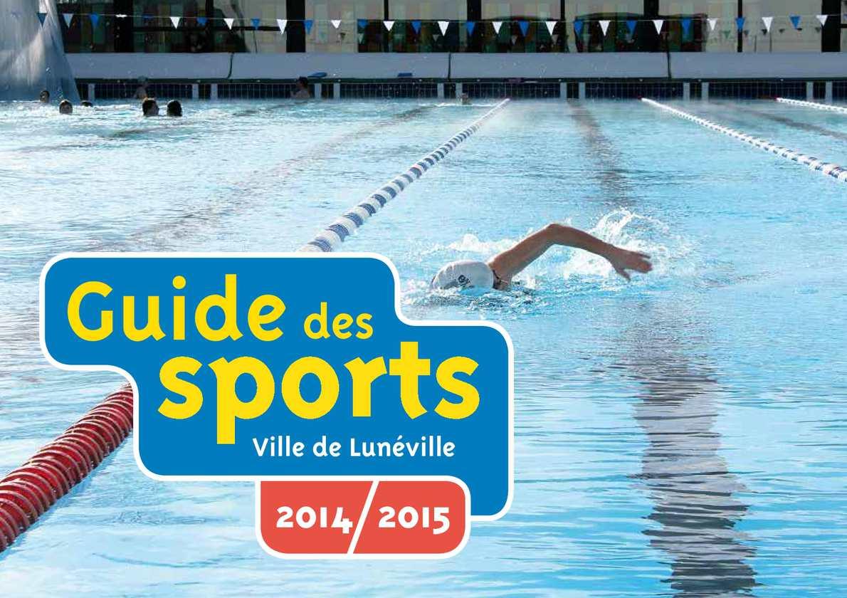 Calam o guide des sports 2014 2015 for Piscine de luneville
