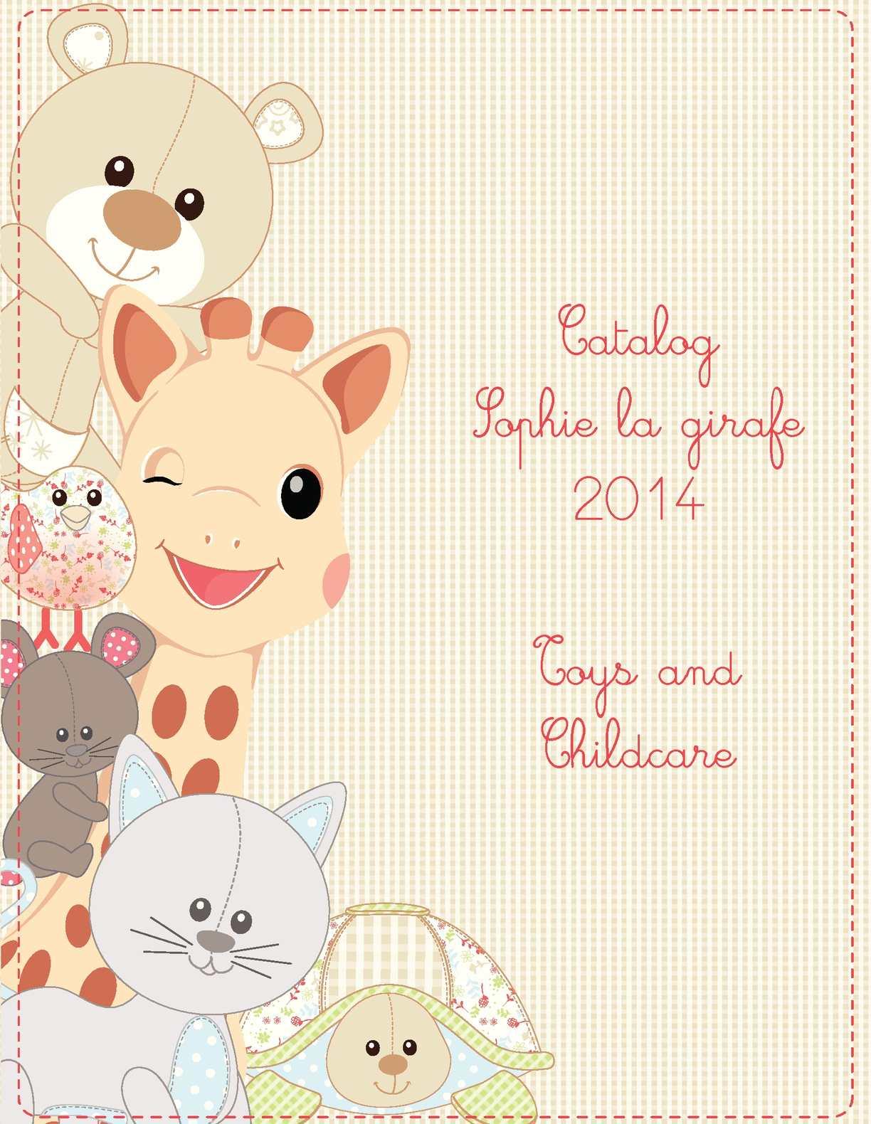calam o sophie la girafe catalog. Black Bedroom Furniture Sets. Home Design Ideas