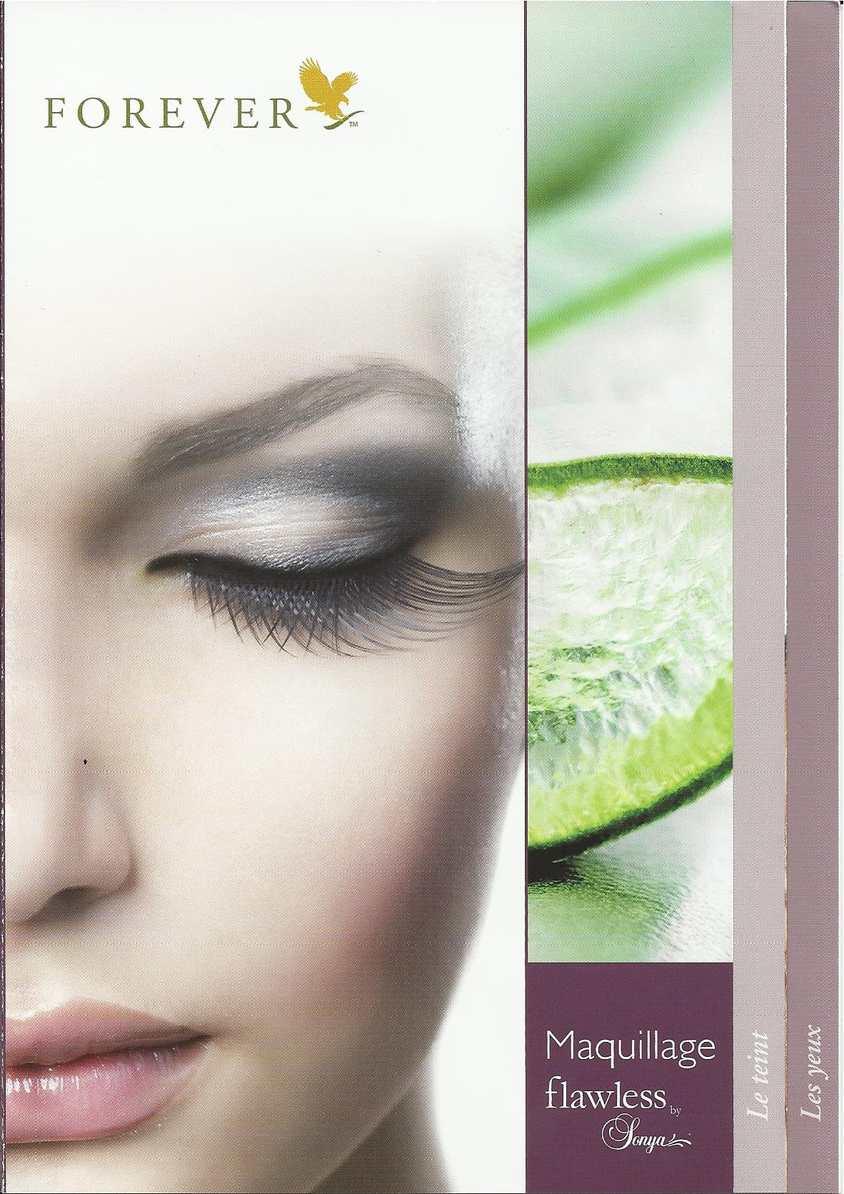 catalogue de maquillage