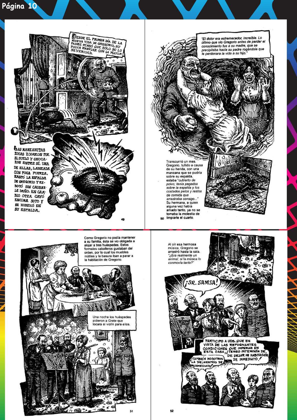 La Metamorfosis ilustrada parte 2