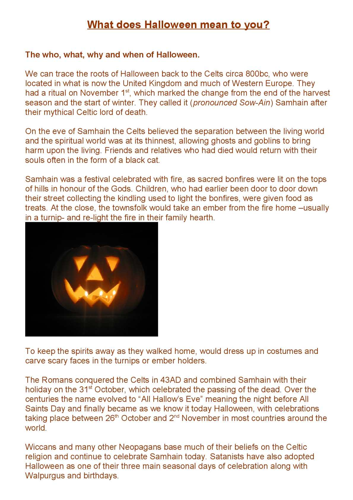 calaméo what does halloween mean to you
