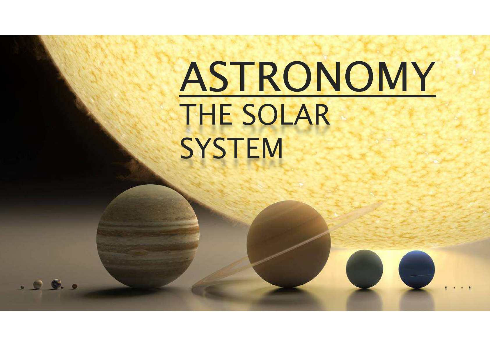 Maths and Astronomy Why Maths Comenius
