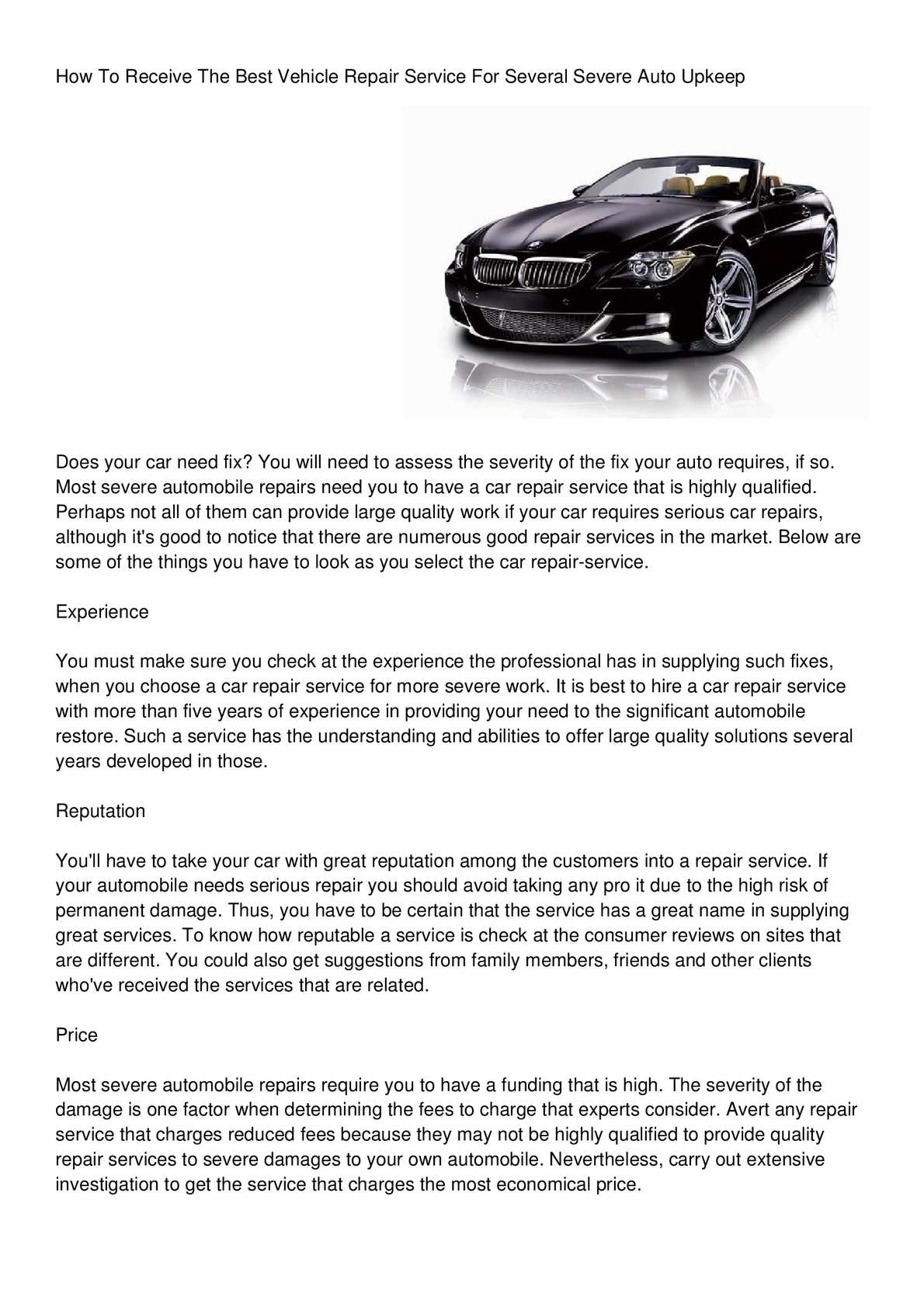 The quality of car service is more important than the car itself 24Warez.Ru 29