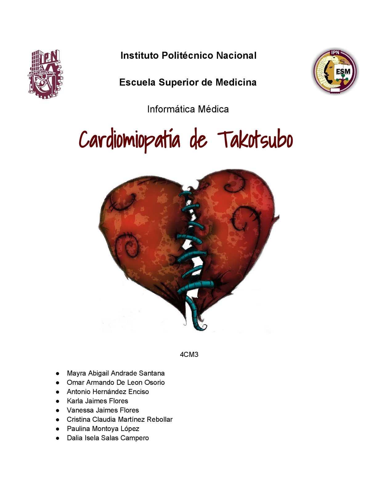 Calaméo - Sindrome del corazón roto