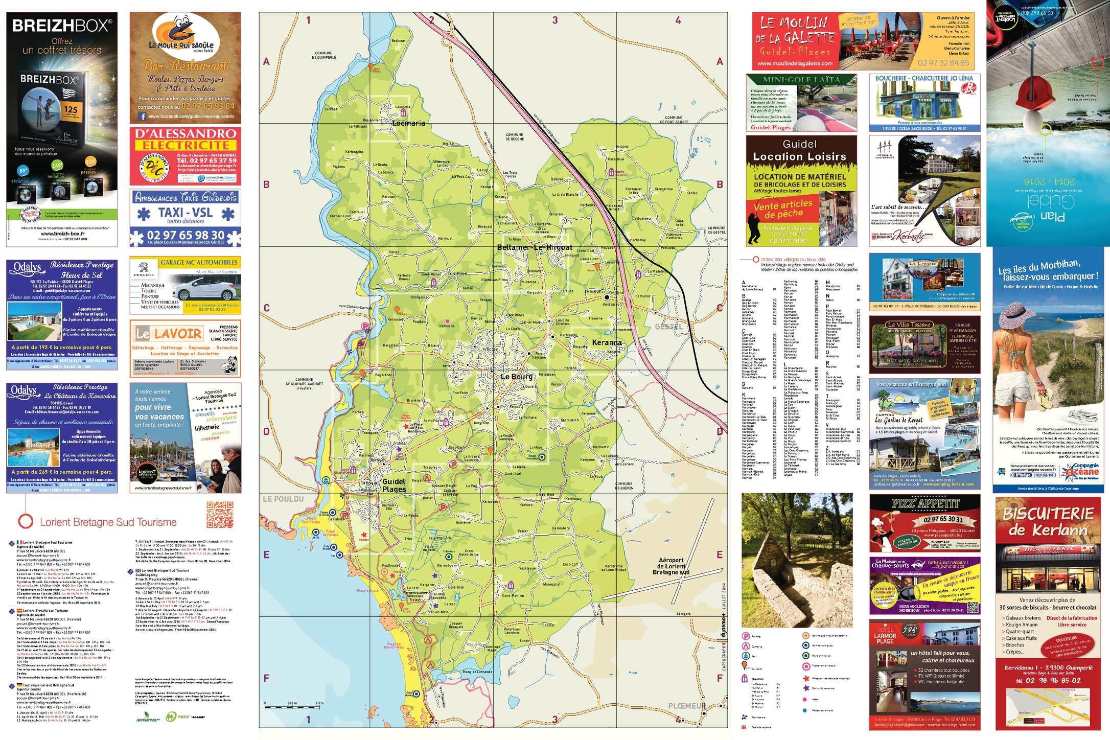 Calam o plan guidel 150 - Office du tourisme guidel ...