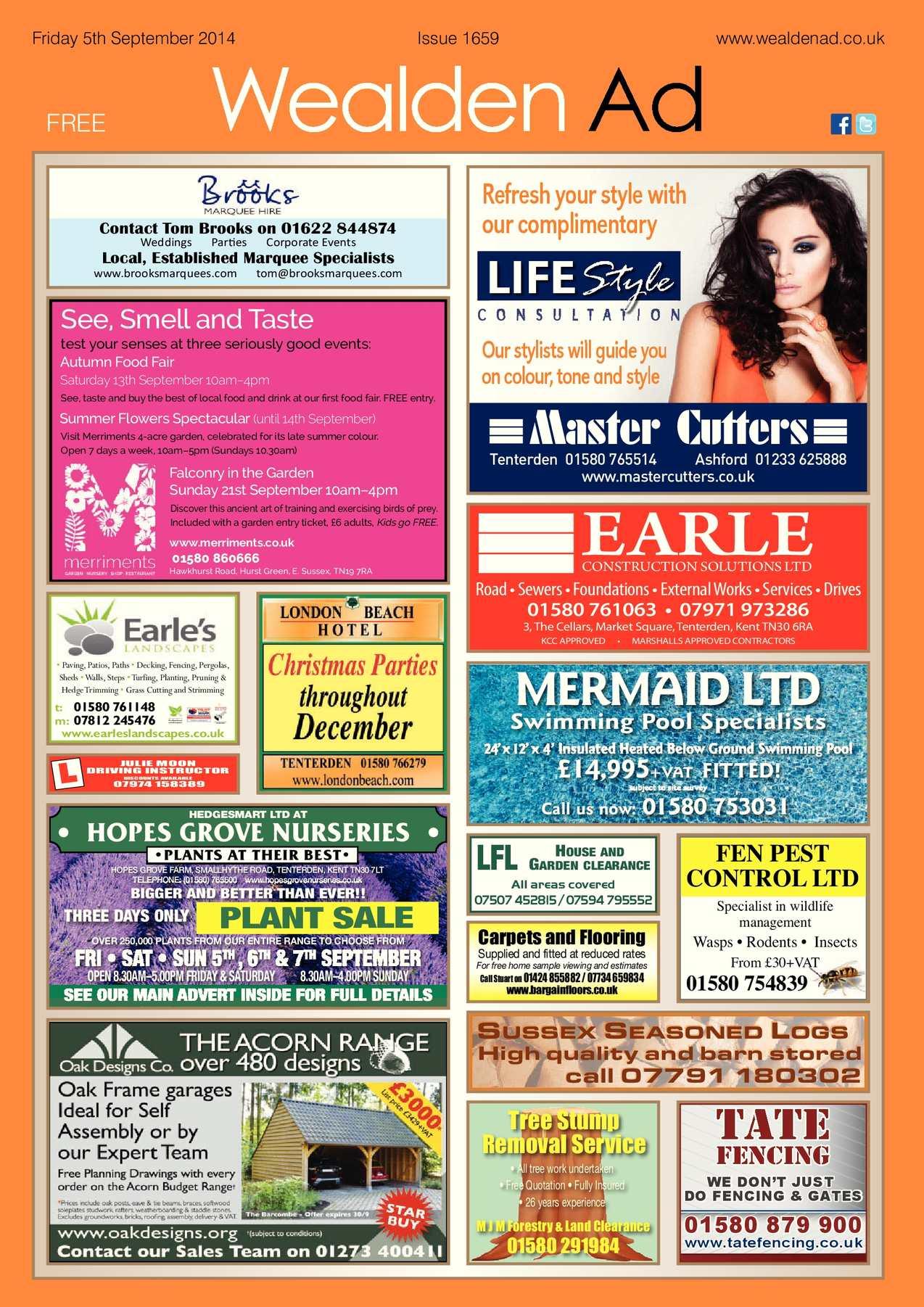 Calaméo Wealden Advertiser 05 09 2014