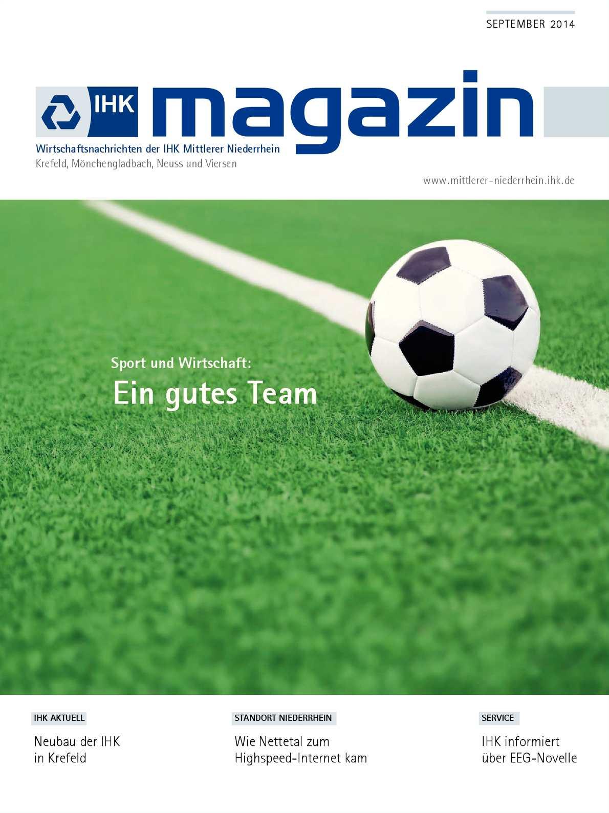 Calaméo - IHK Magazin September 2014