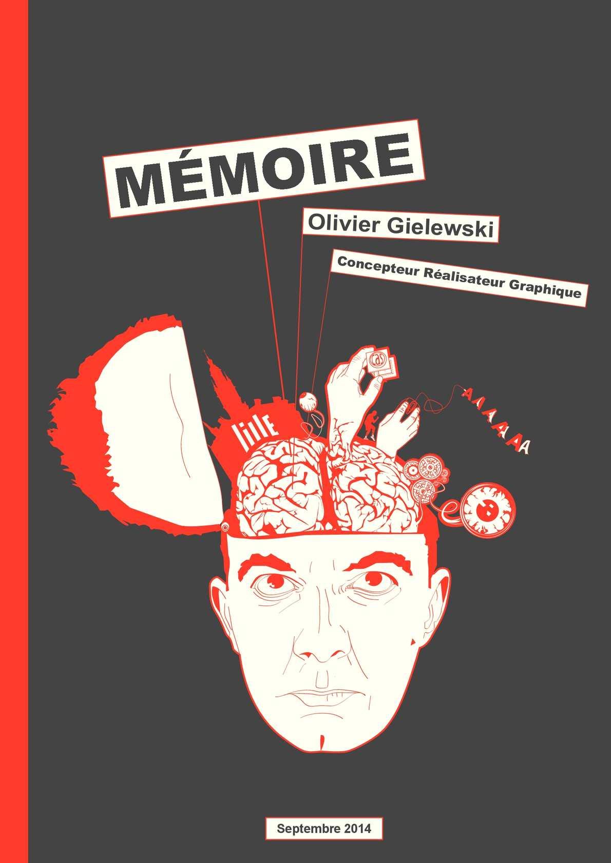 Gut bekannt Calaméo - Mémoire - Concepteur Réalisateur Graphique - olivier  GQ13