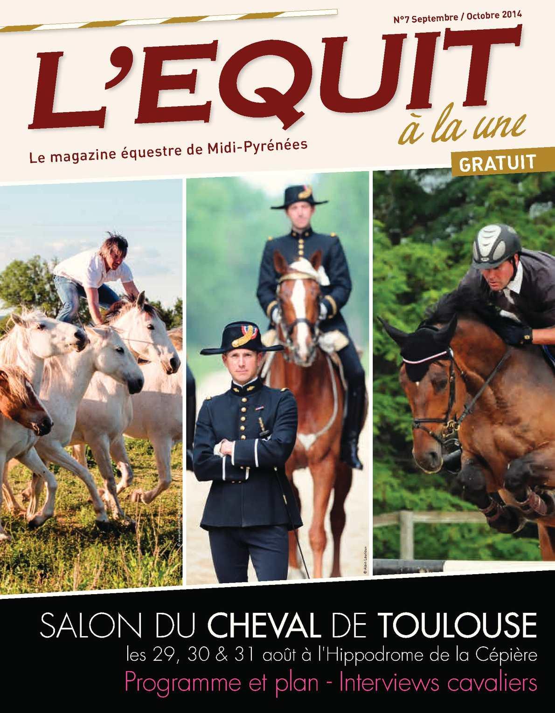 Calam o magazine n 7 septembre octobre 2014 programme - Salon cheval toulouse ...