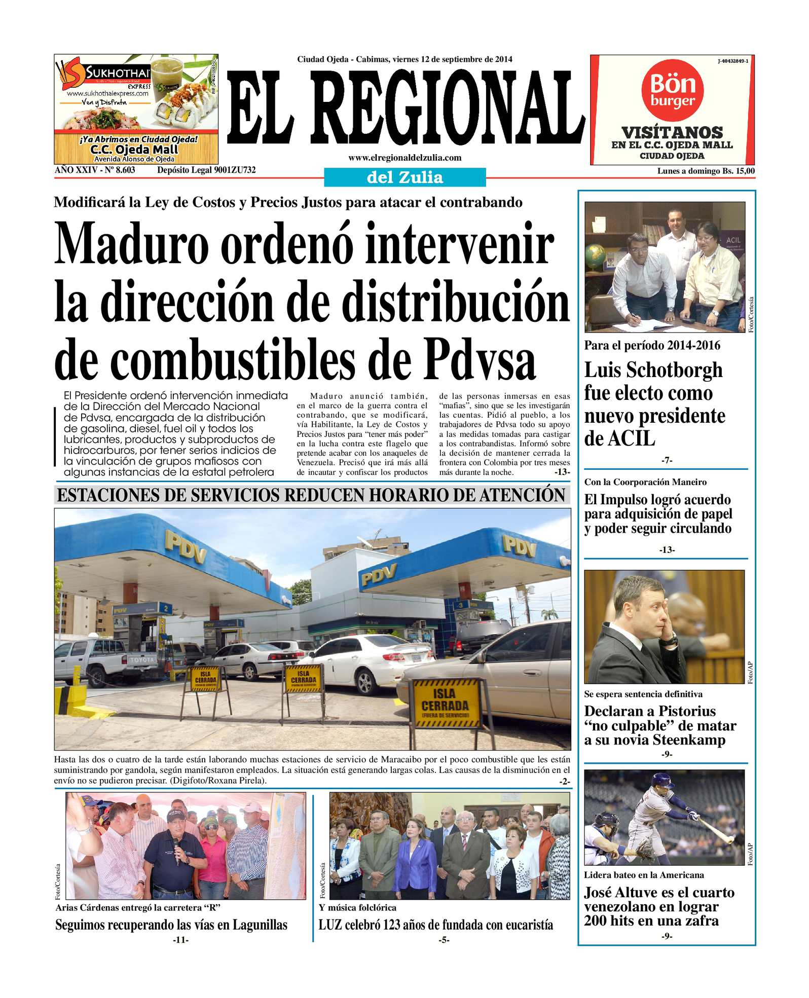 Calaméo - El Regional del Zulia 12-09-2014